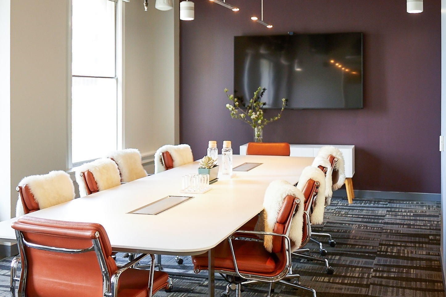 Conference Rooms - Meet with one person or eighteen in our three fully equipped meeting rooms.