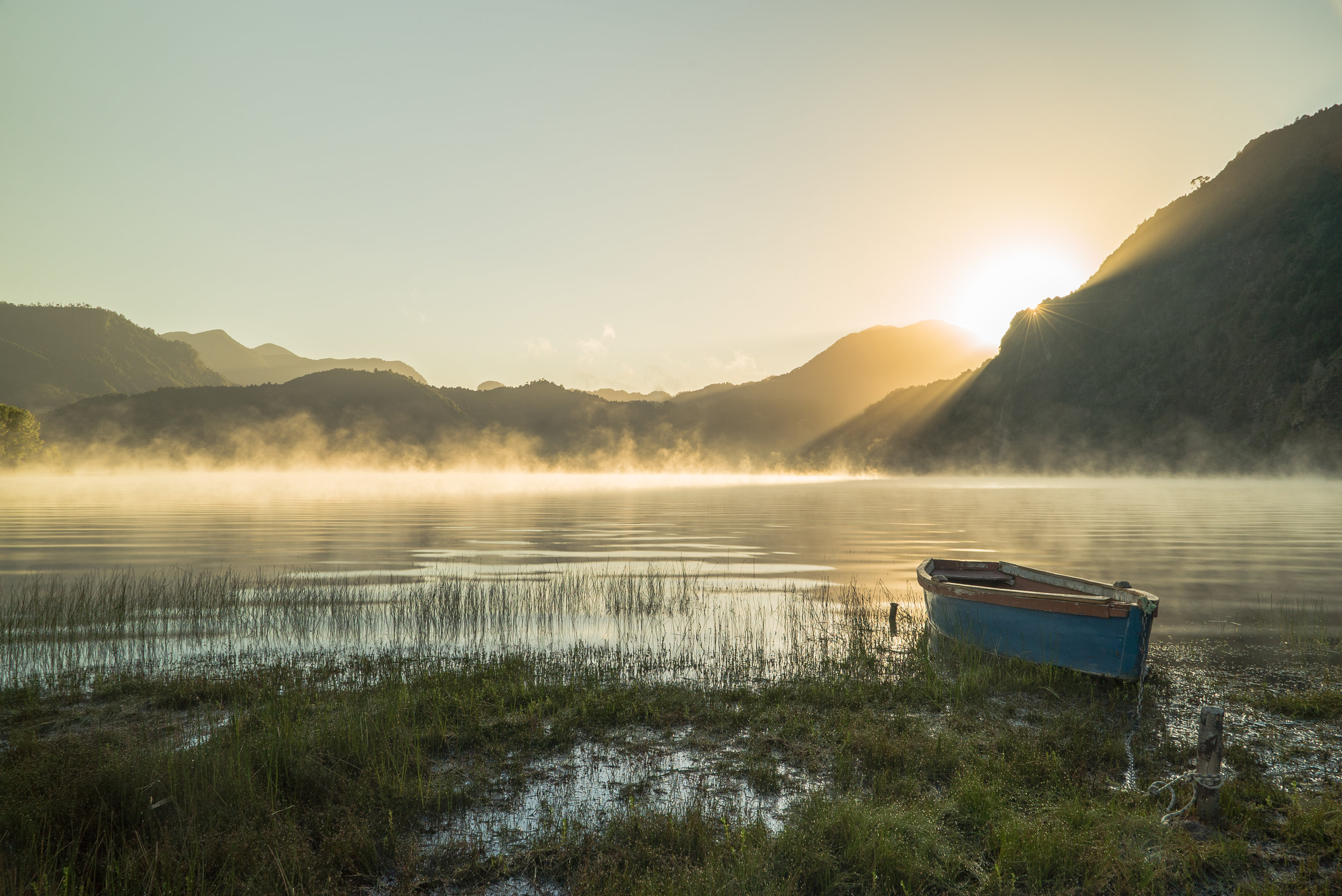 Neltume Lake, Chile