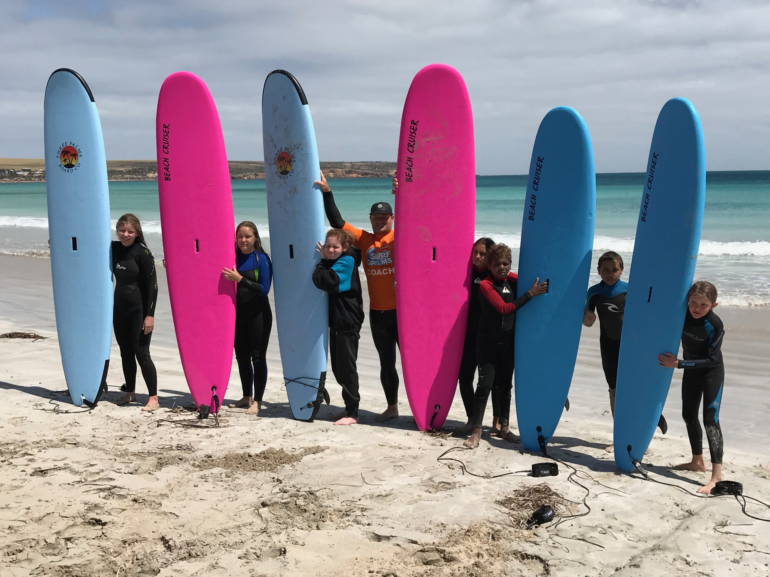 Surfing with Sceale Bay Surf School