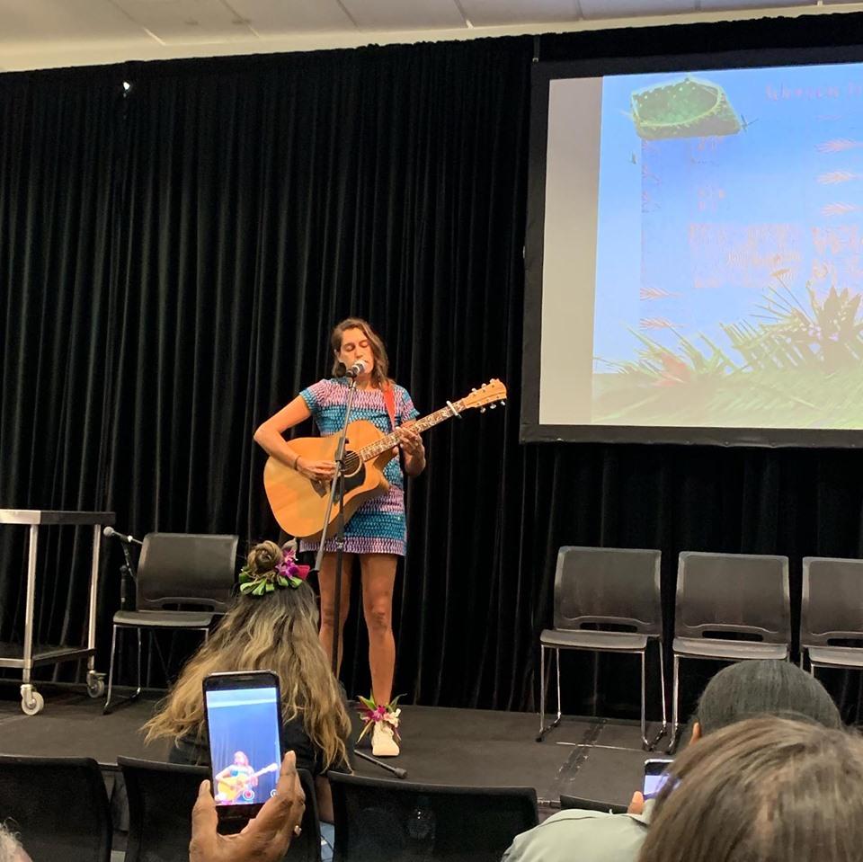 Letisha Singing at Puliima.jpg