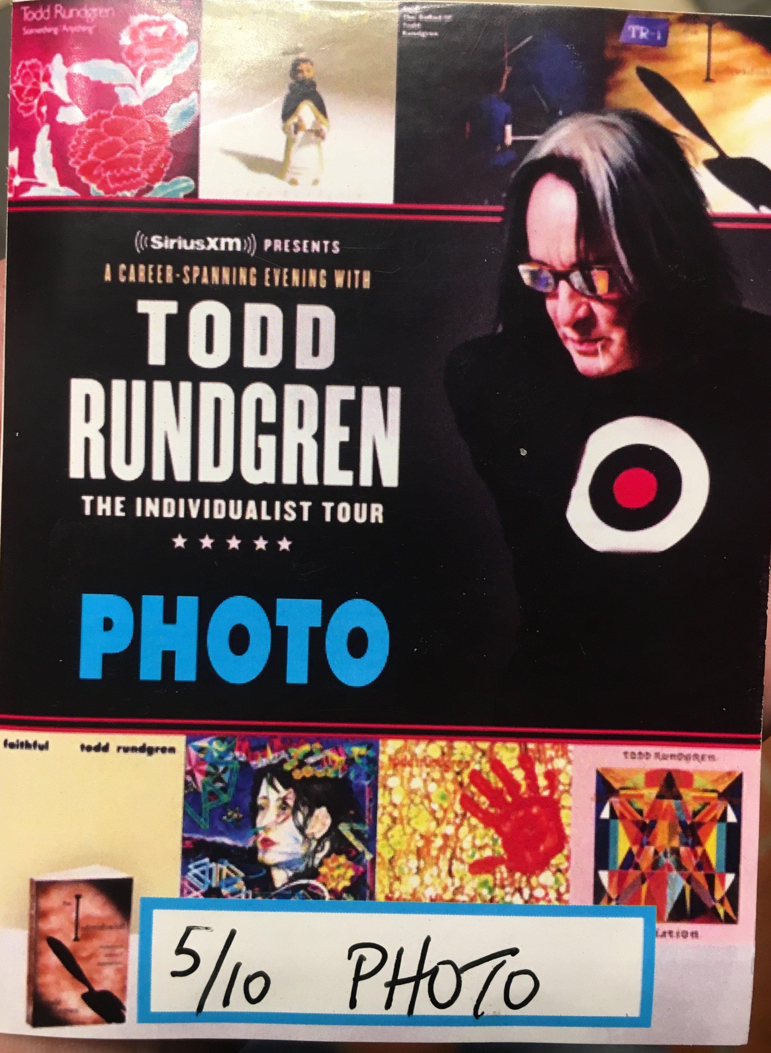 Todd Rundgren 5-10-2019