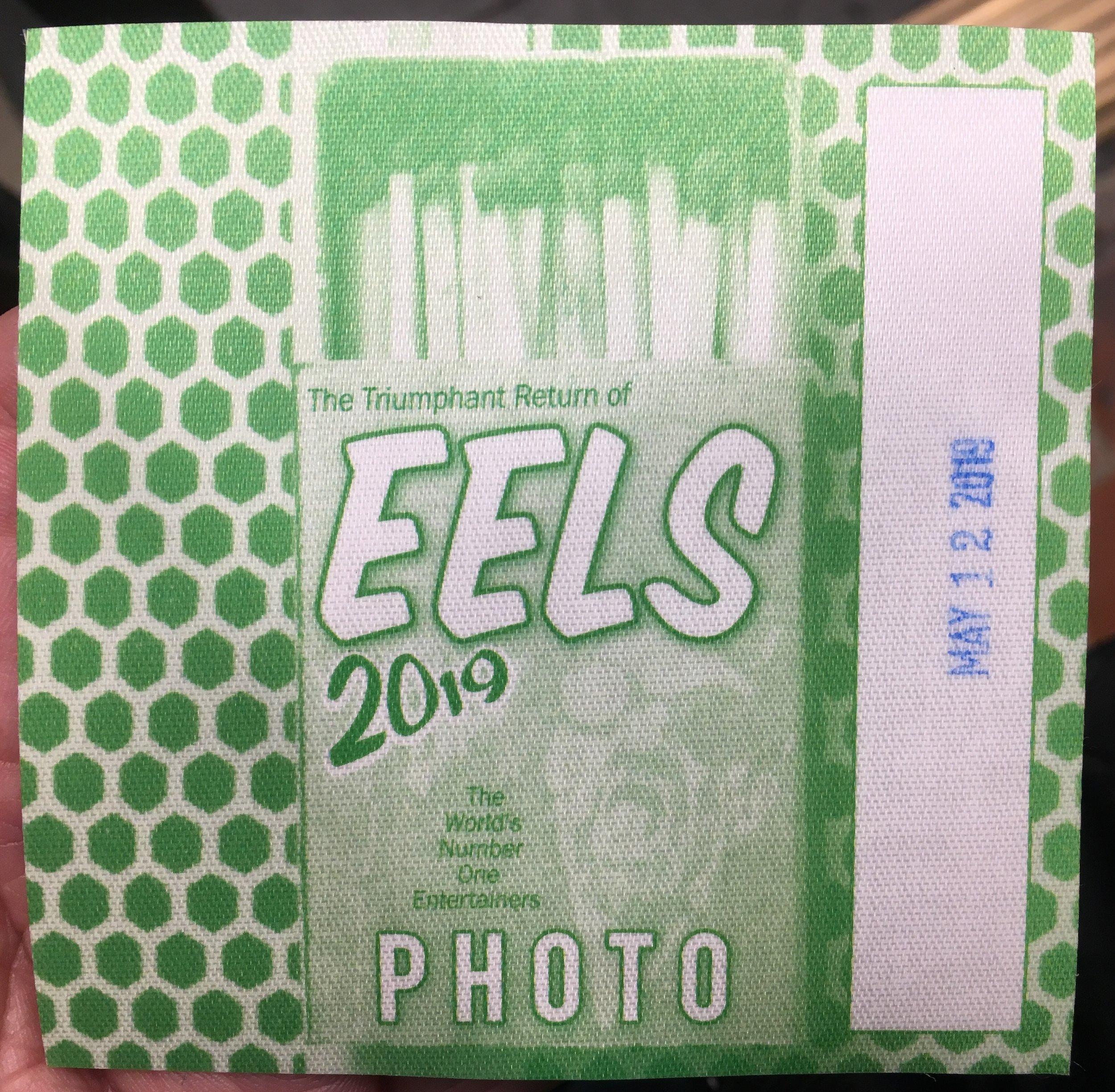 Eels 5-12-2019