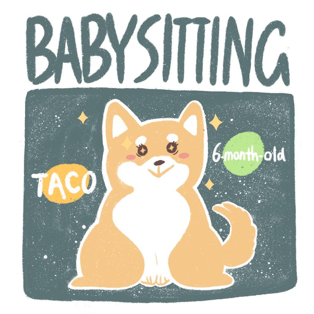 Babysitting Taco - Digital