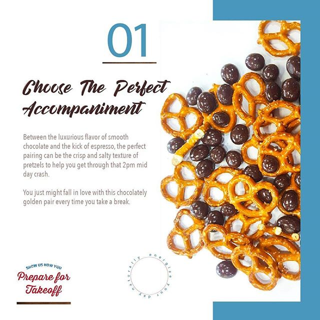 If you are like most of us at work, right about now is about the time you start reaching for another cup of coffee and that mid-day snack to carry you over until dinner time. Lets look at one of our favorite pairings. This one is Pretzels and Smooth Rich Premium Dark Chocolate Covered Espresso Beans. Its a sweet & salty combination packed with Caffeine from perfectly roasted beans to power you through. If you have a favorite pairing share it with us at #aviatorcontest or DM so you can be registered for a FREE TRIP and highlighted on our page. #coffeefacts #caffeineandchocolate #espressobeans #cupoftheday #coffeeart #energydrink #edc #crossfit #workout #superfood #energydrink #fitness #fitfam #lifestyle #barista #coffeeart #outdoorsman #edc nashvillecoffee #superfood #naturalfood #energyfood #keto #caffeine