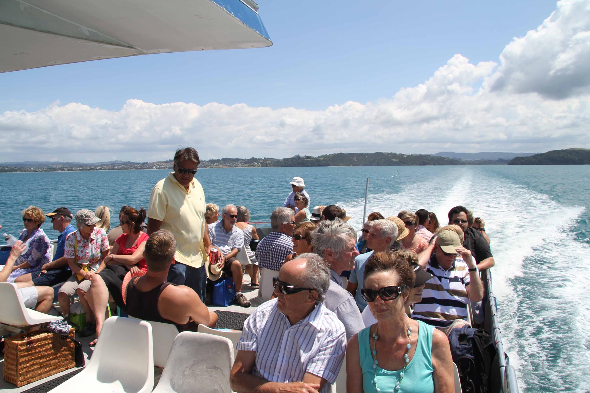 Ferry service to Kawau Island