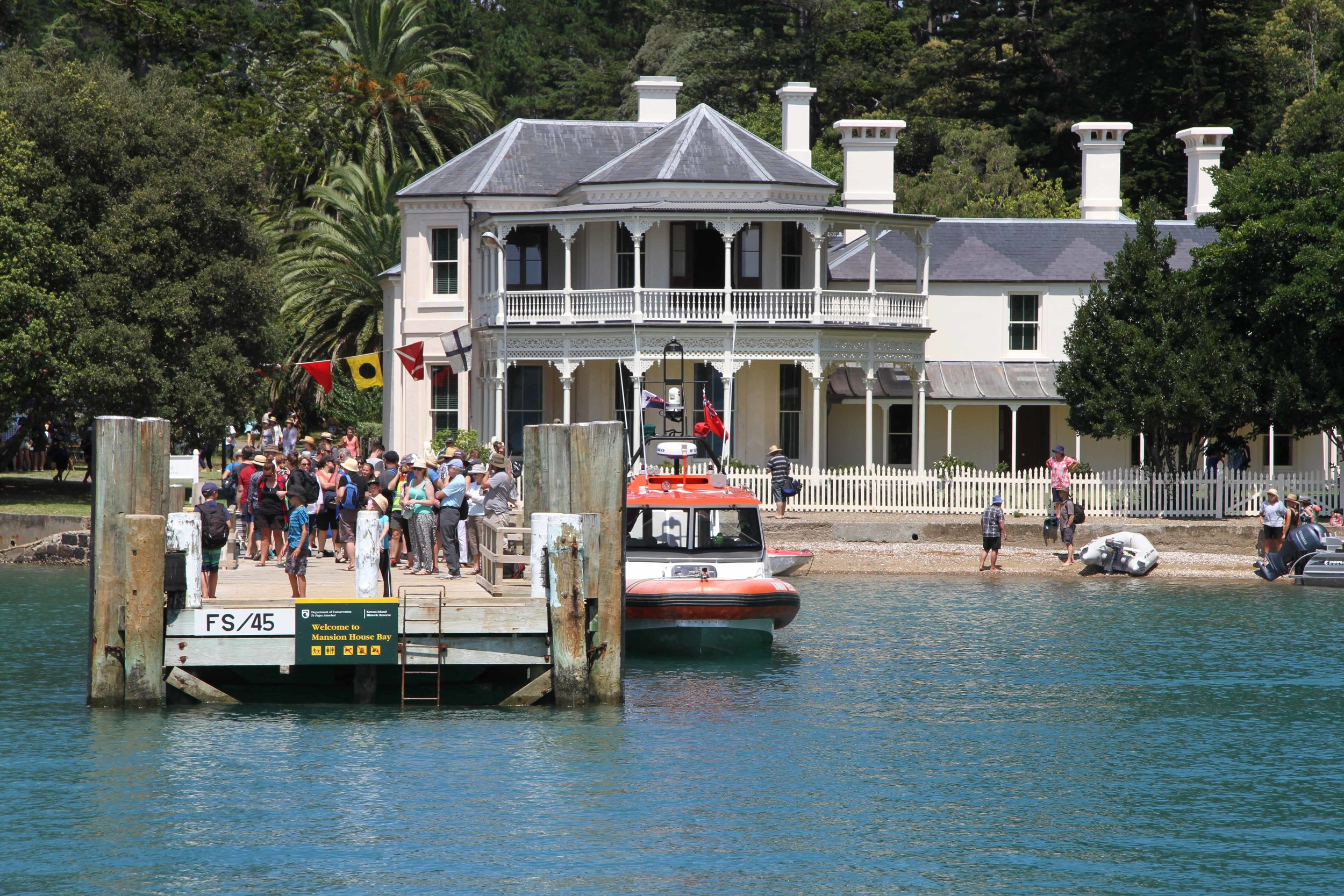 Mansion House, Kawau Island