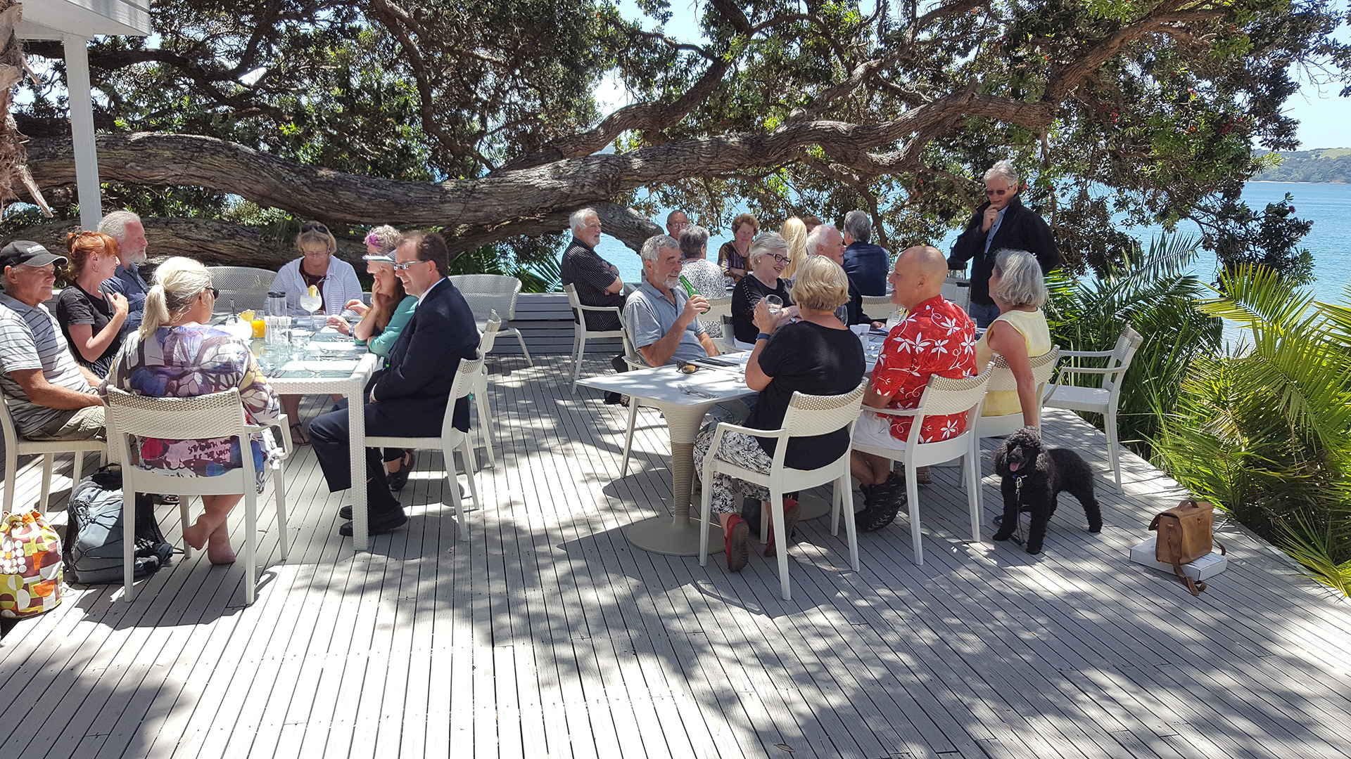 Kawau Community meeting at The Beach House