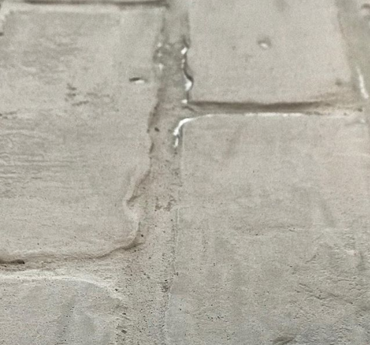 Texture on Brick with Lime Wash