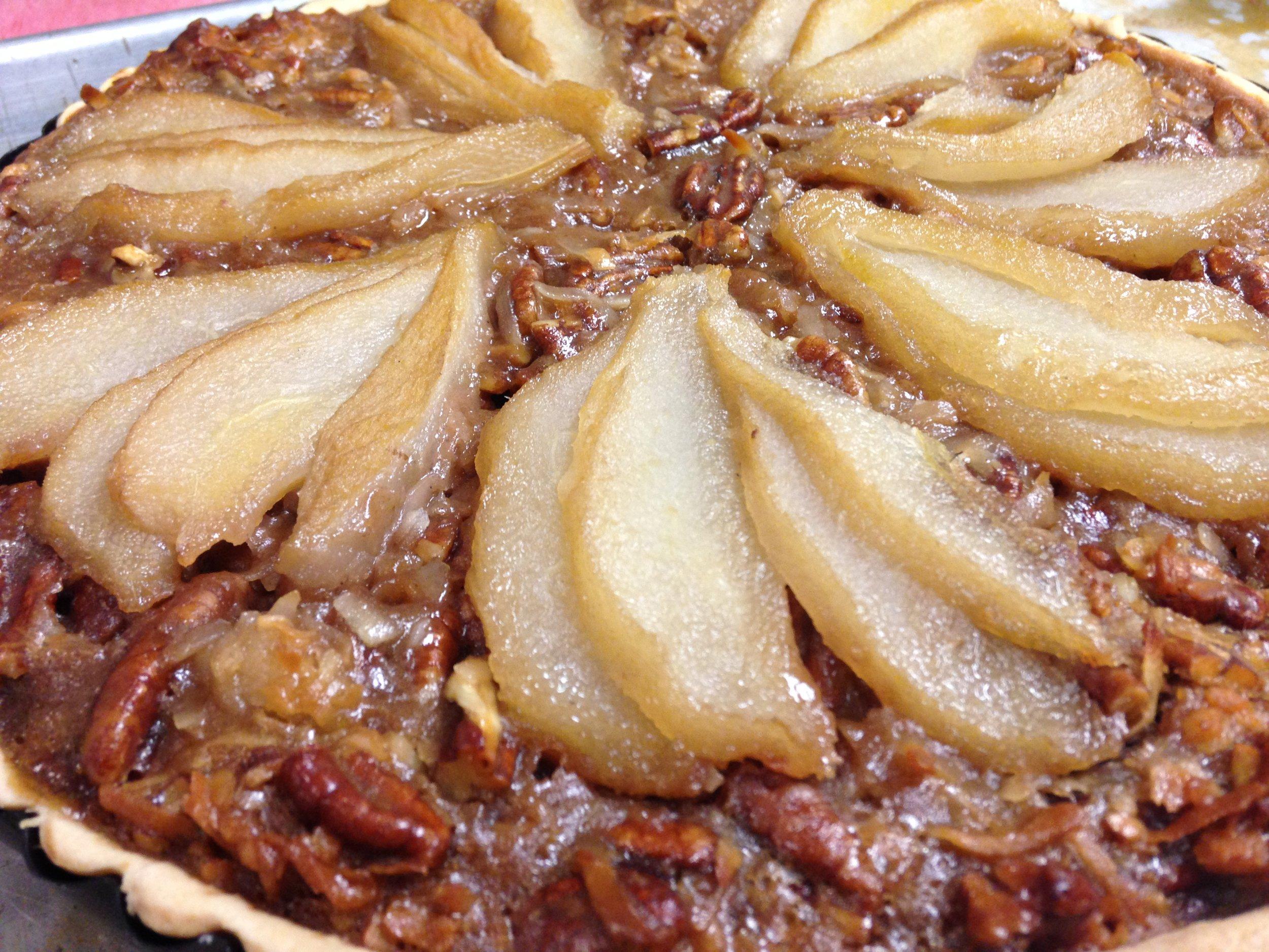 Pear pecan tart.JPG