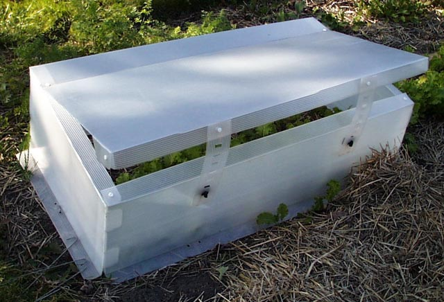 My portable cold frame