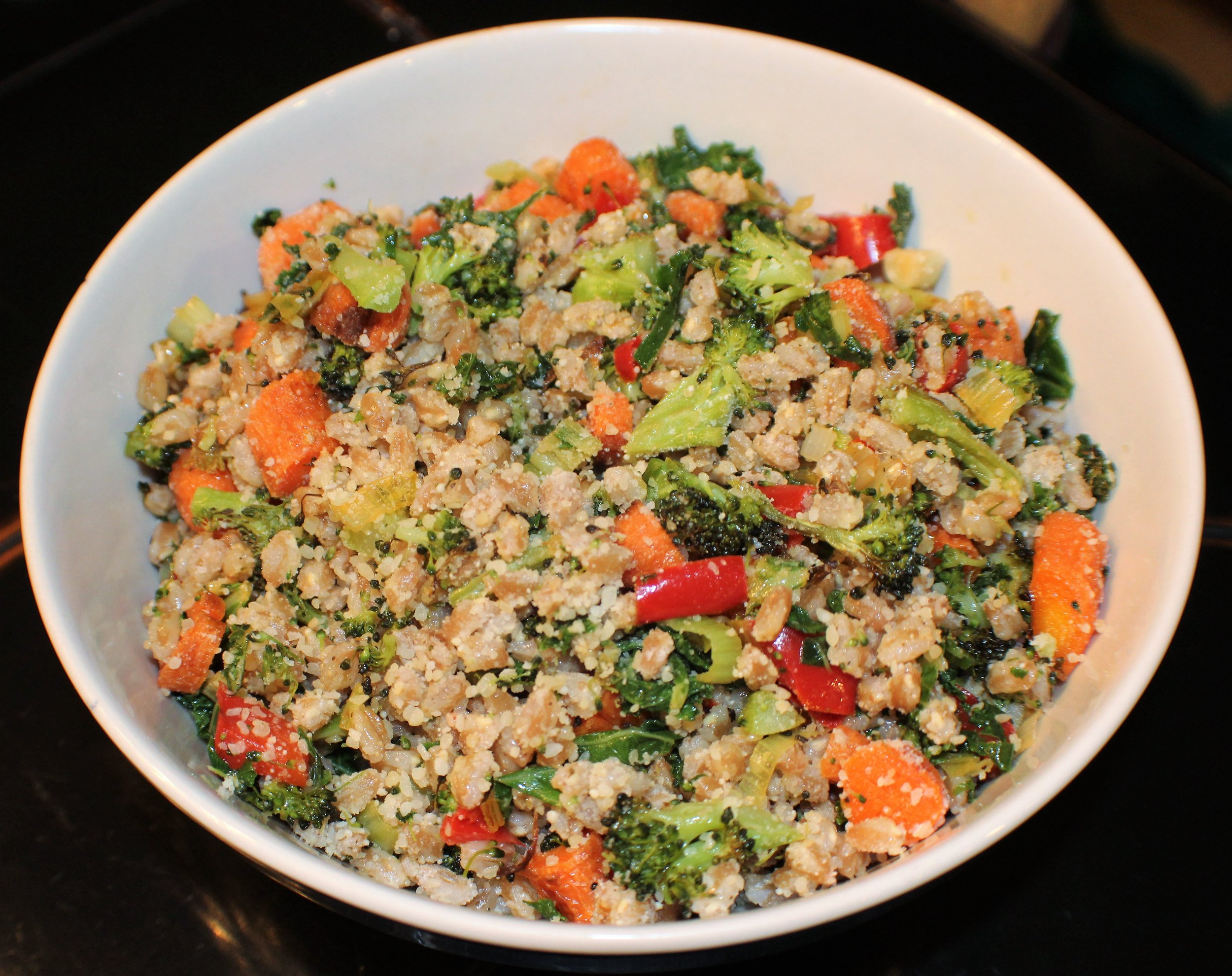 roasted vegetables with farro.JPG