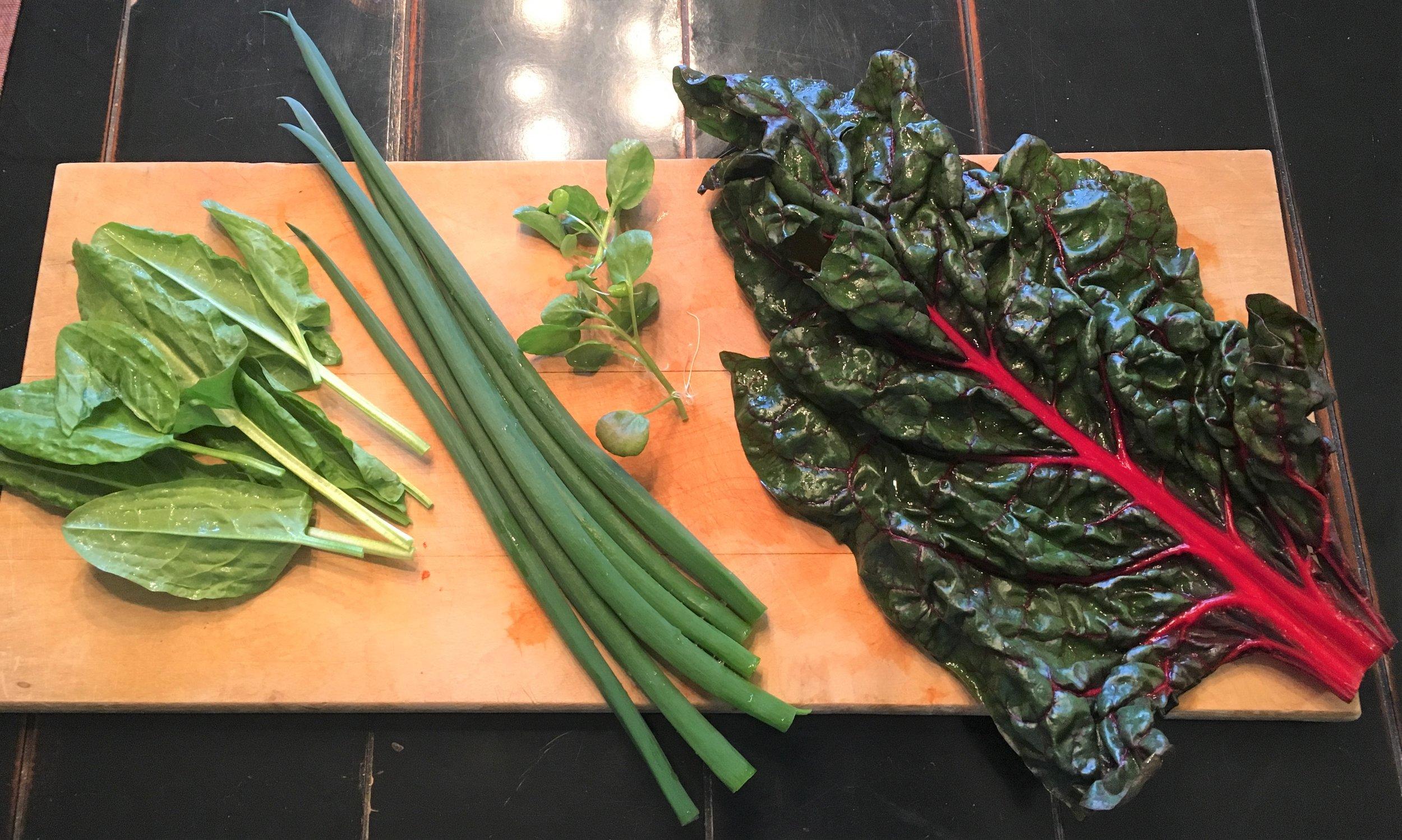 ingredients for watercress salad.JPG