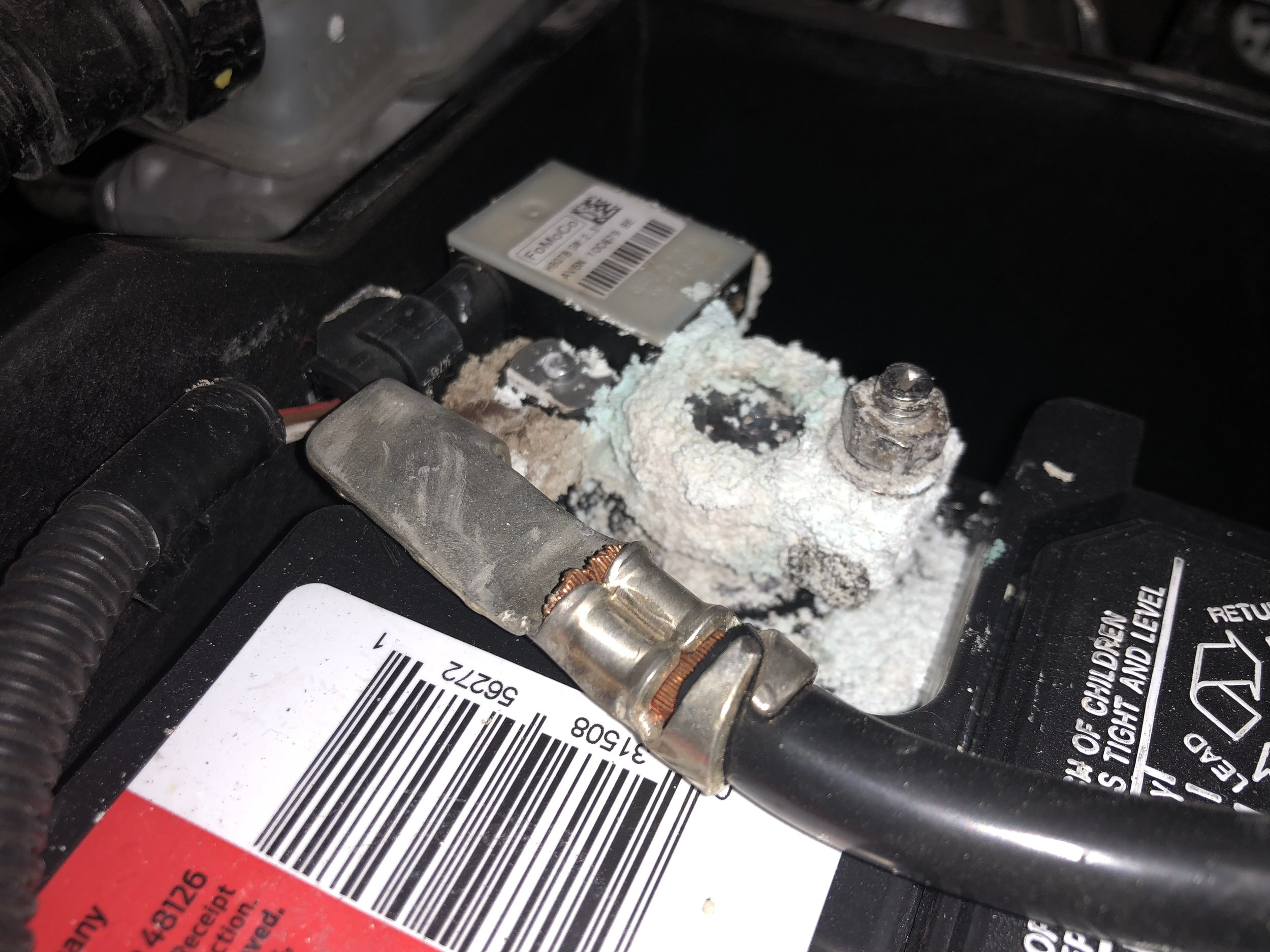 A car battery we replaced in San Antonio Texas.