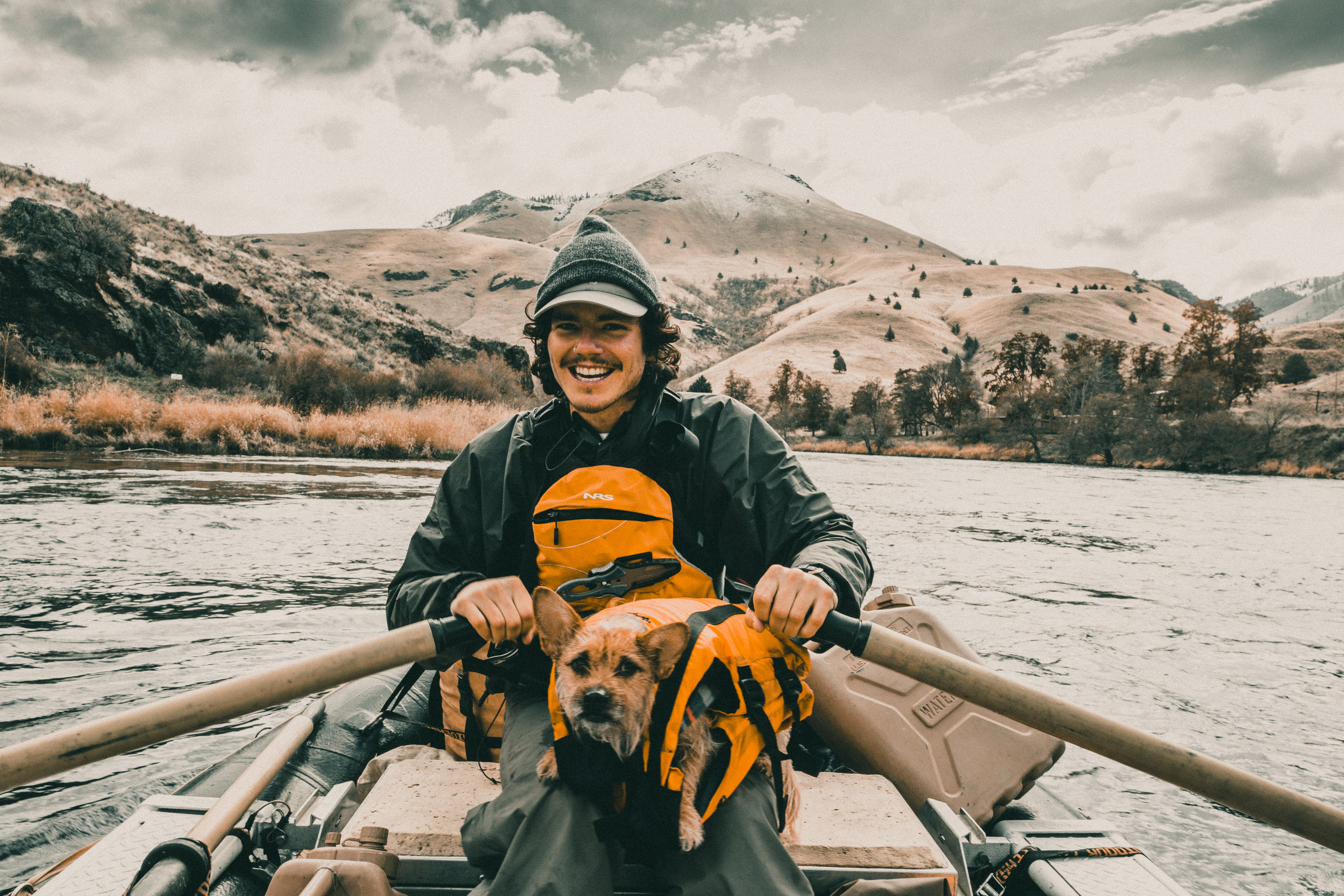 Ethan Wyman - River guide and expedition coordinator