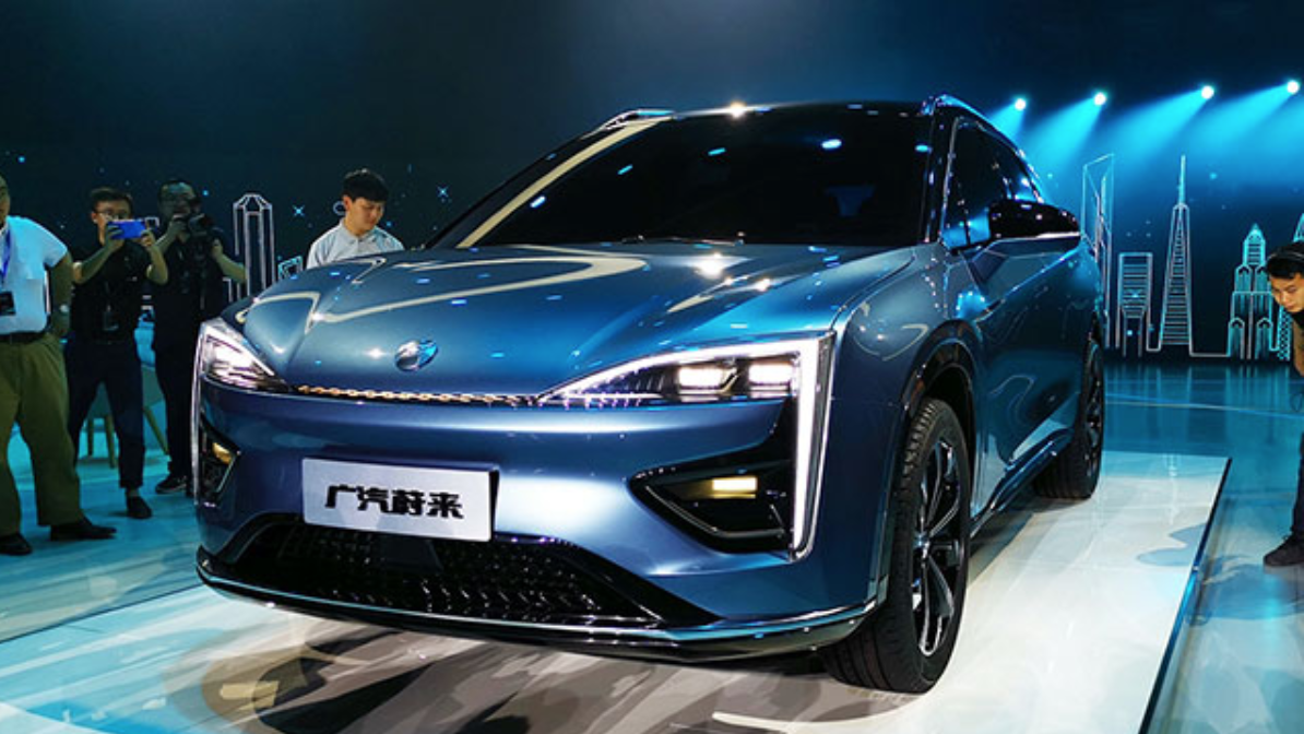 Photo: Launching in 2020, the all-electric Hycan SUV will run 370 miles on a single charge.
