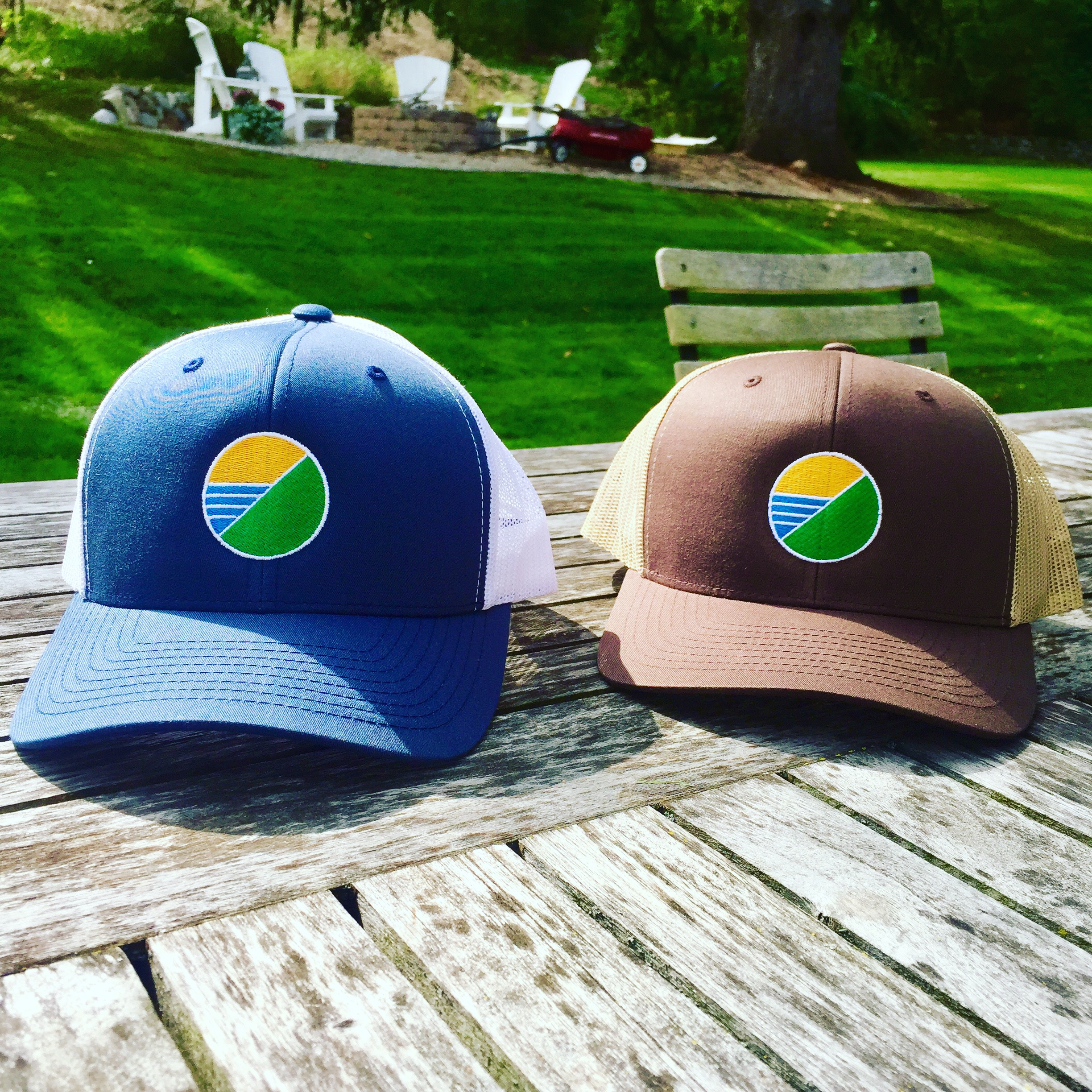 Men's Collection - Hats and tees for outdoor enthusiasts.