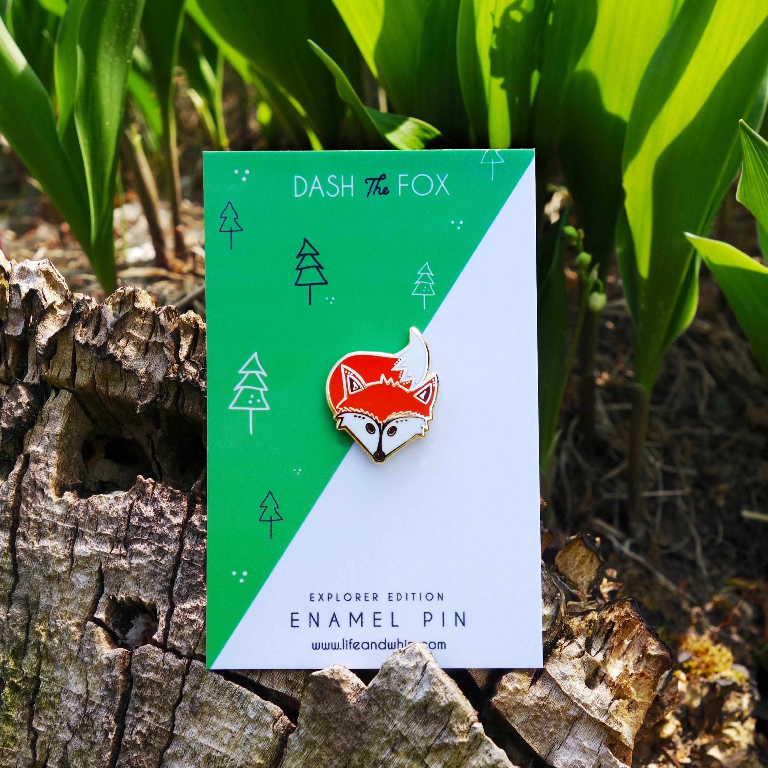 Enamel Pins - Our Northern-Michigan inspired hard enamel pins can be worn on lapels, jackets, hats, bags – really anywhere you want to add a bit of flair, fun and style to an outfit or accessory.
