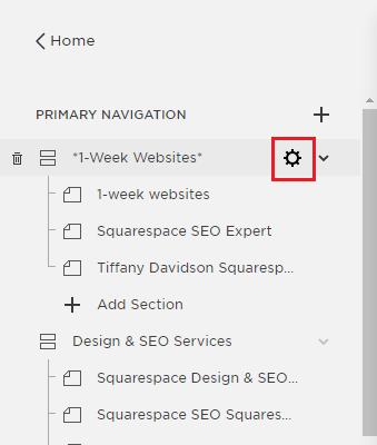 Tiffany Davidson, Squarespace SEO Expert, Squarespace SEO Specialist, Squarespace Help, Freelance Squarespace Web Designer, Squarespace SEO 2018, Squarespace SEO 2019, Squarespace SEO checklist, url structure SEO, SEO page name, Squarespace Help