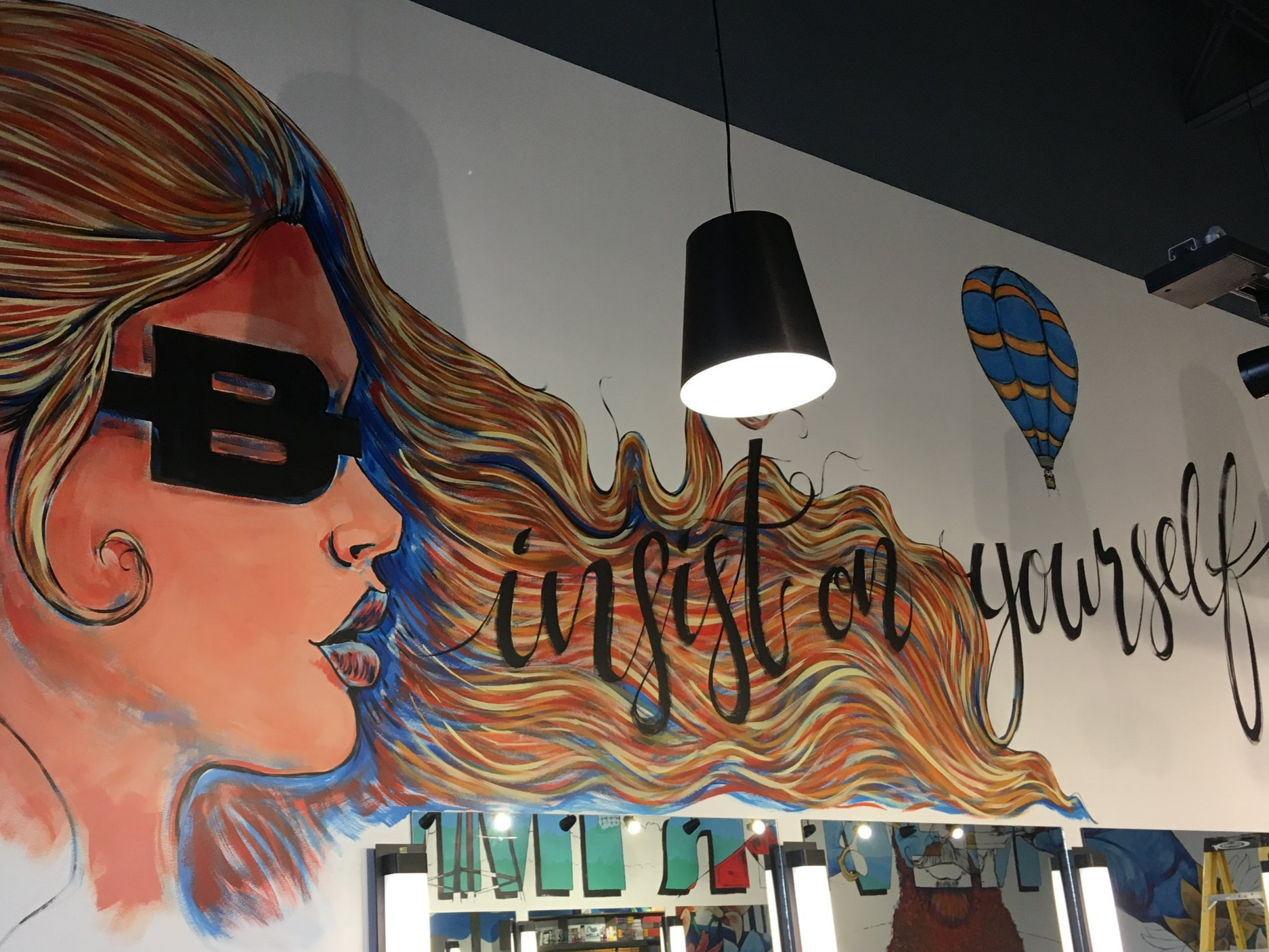 beautify - ORIGINAL HAND PAINTED MURALS Utilize premium materials and procure equipment. Offer anti-graffiti coating and maintenance plans. Operate under crazy tight deadlines and in all sorts of weather. Work with client supplied design or create an original mural that fits your needs.
