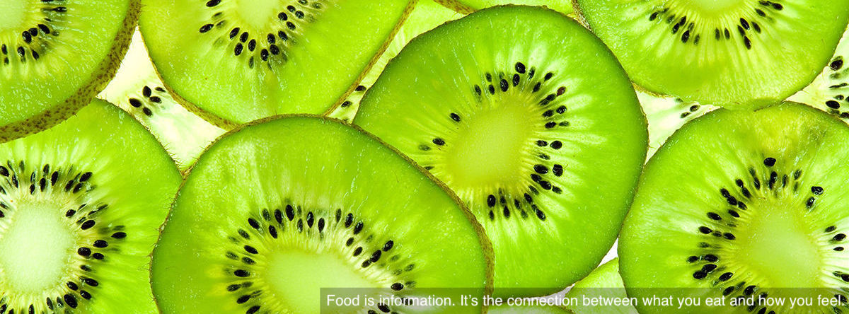 Health diet and nutrition - kiwi