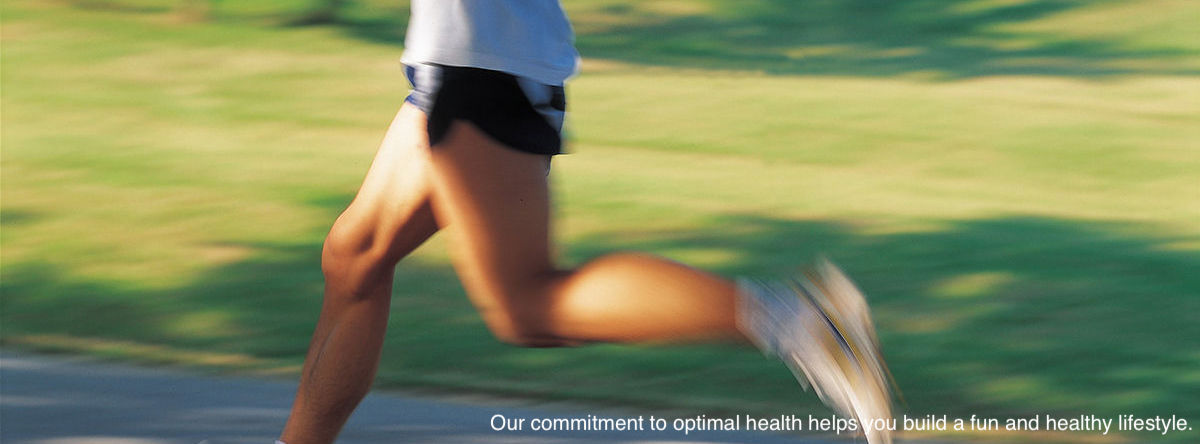 Chiropractic sports injury treatment - healthy runner