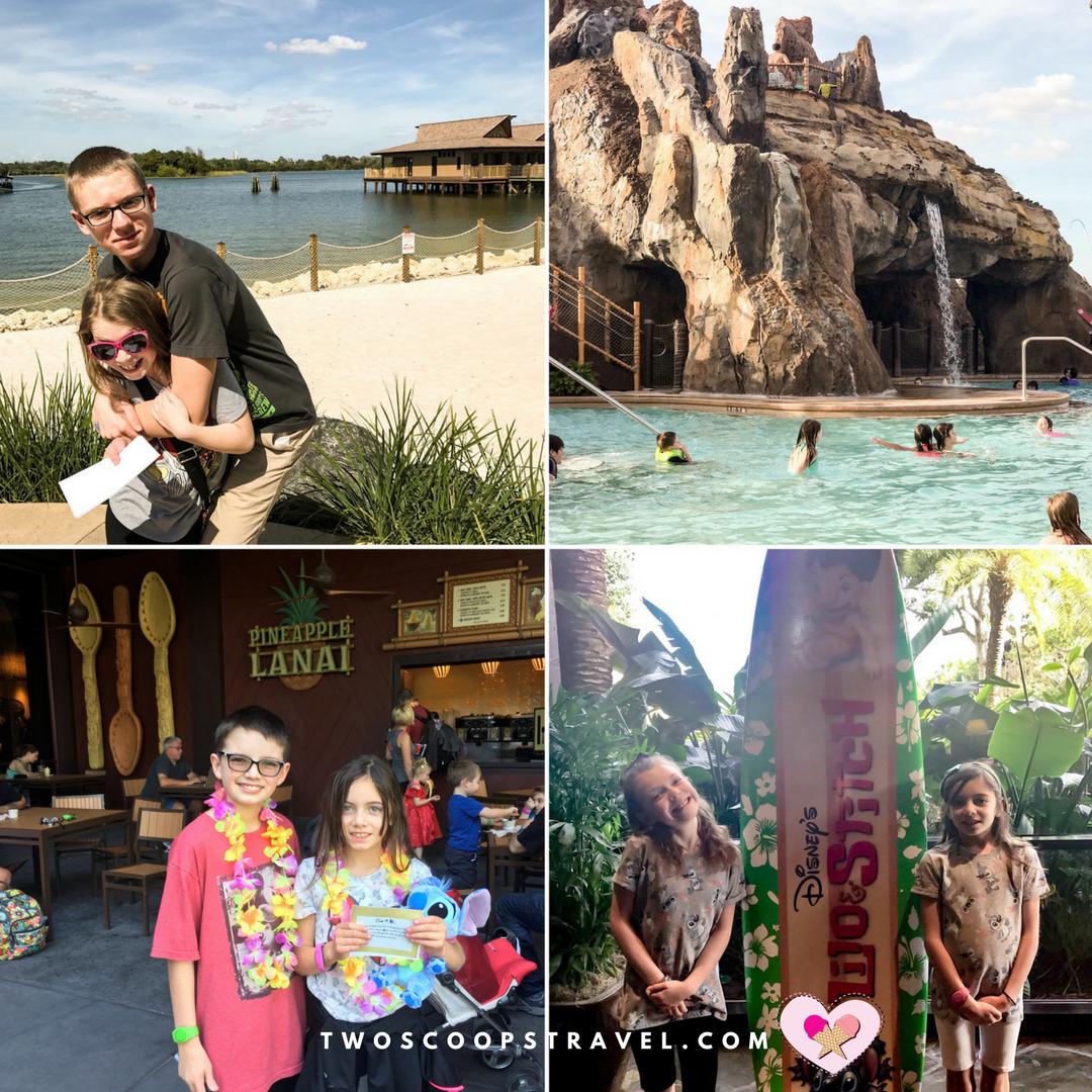 Tween Scavenger Hunt at Disney's Polynesian Village Resort