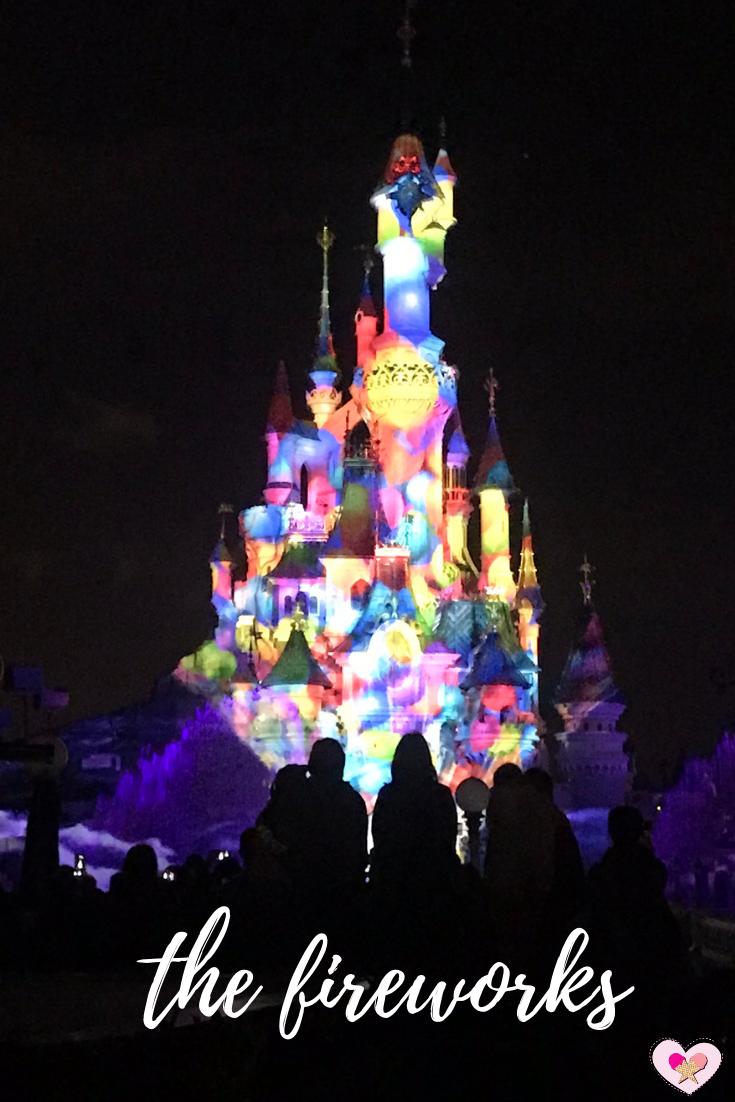 Fireworks show at Disneyland Park Paris (c) Two Scoops Travel 2018