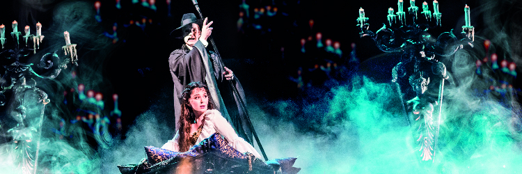 PHANTOM OF THE OPERA - Located in Her Majesty's Theatre
