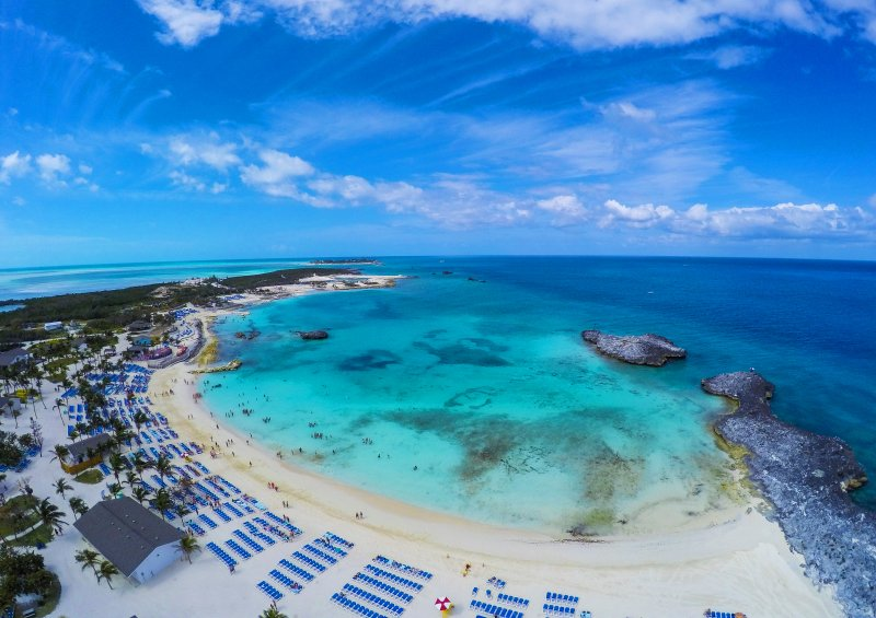 BALCONY view of THE BAHAMAS - $579 - DEPARTURE PORT: PORT CANAVERALDATES: 10/31/2019 - 11/4/2019STATEROOM:  BALCONY CABIN$579 PER PERSON (+cruise taxes)