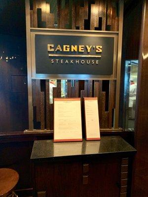 NCL Joy - Cagney's Steakhouse