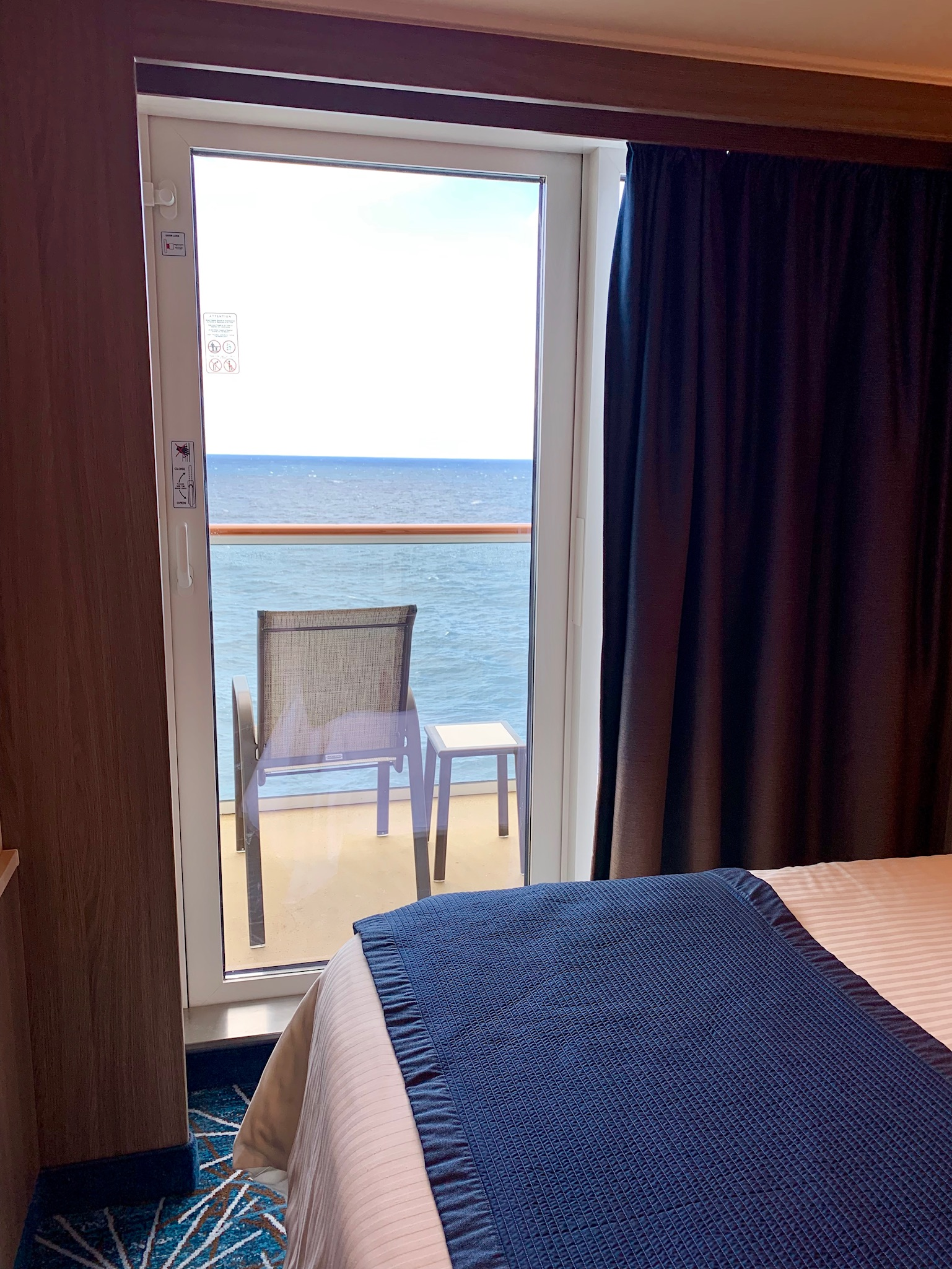 NCL Joy Midship Balcony View