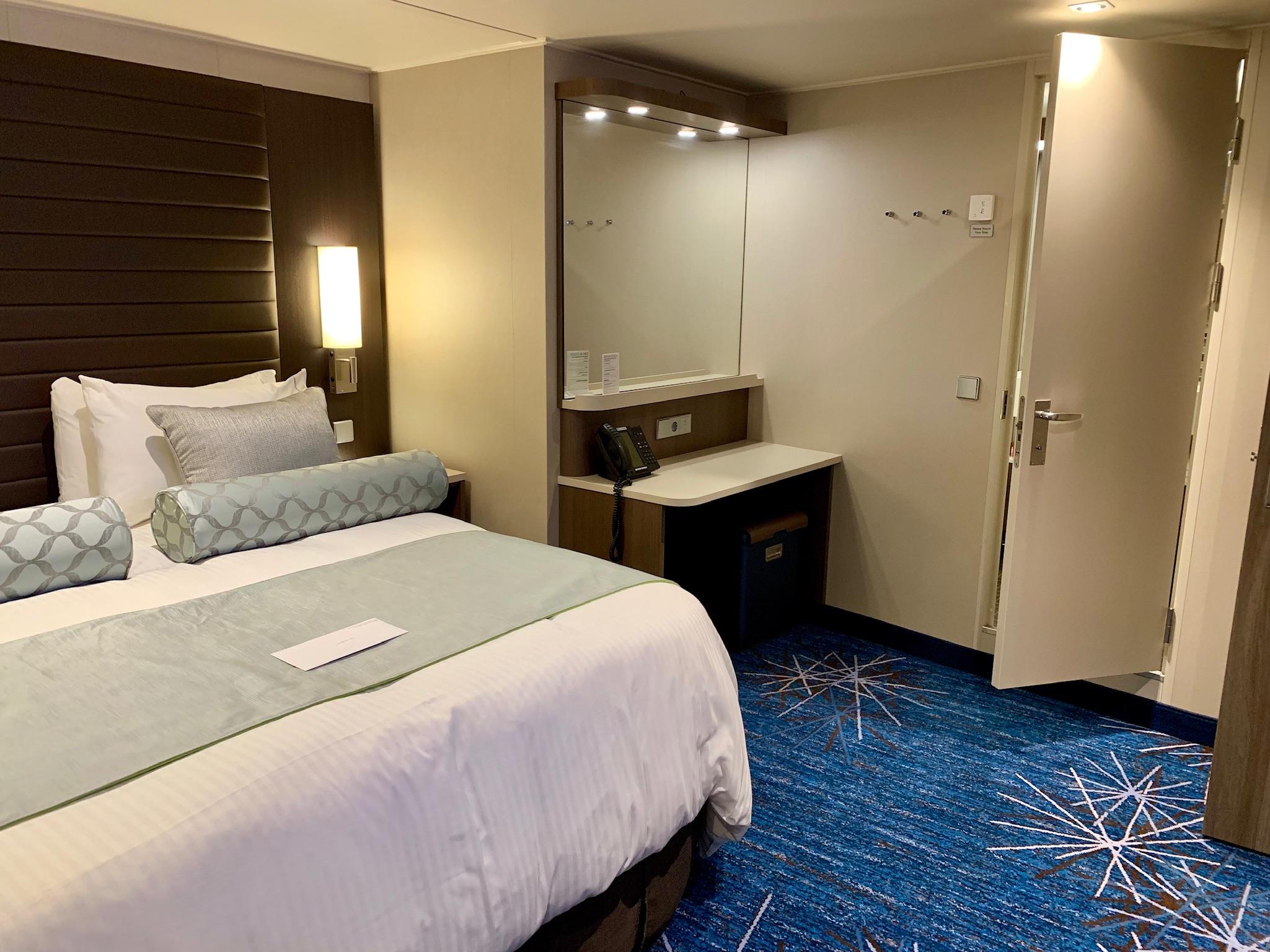 NCL Joy Concierge Family Suite Master Bedroom 2
