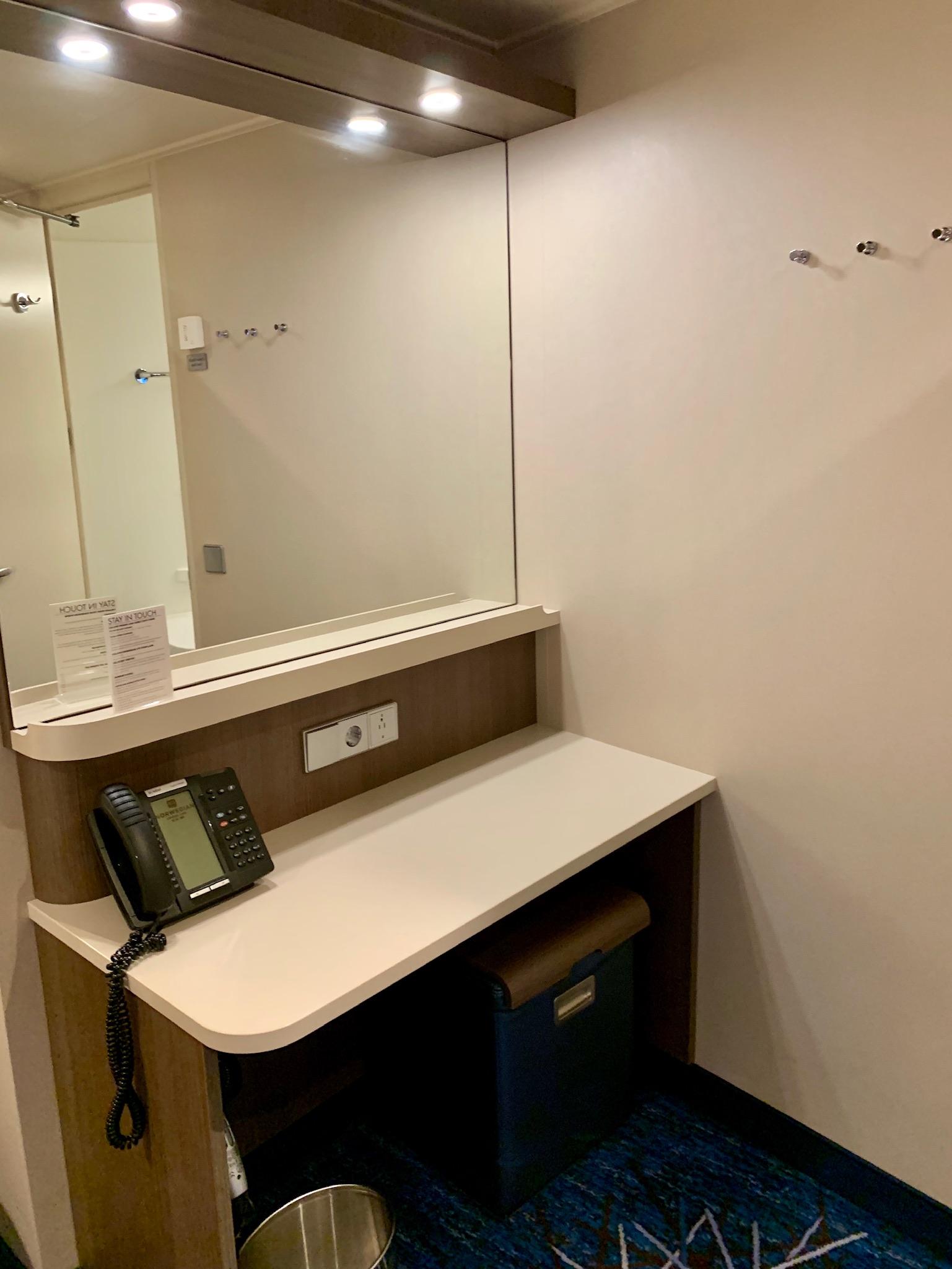 NCL Joy Concierge Family Suite Vanity