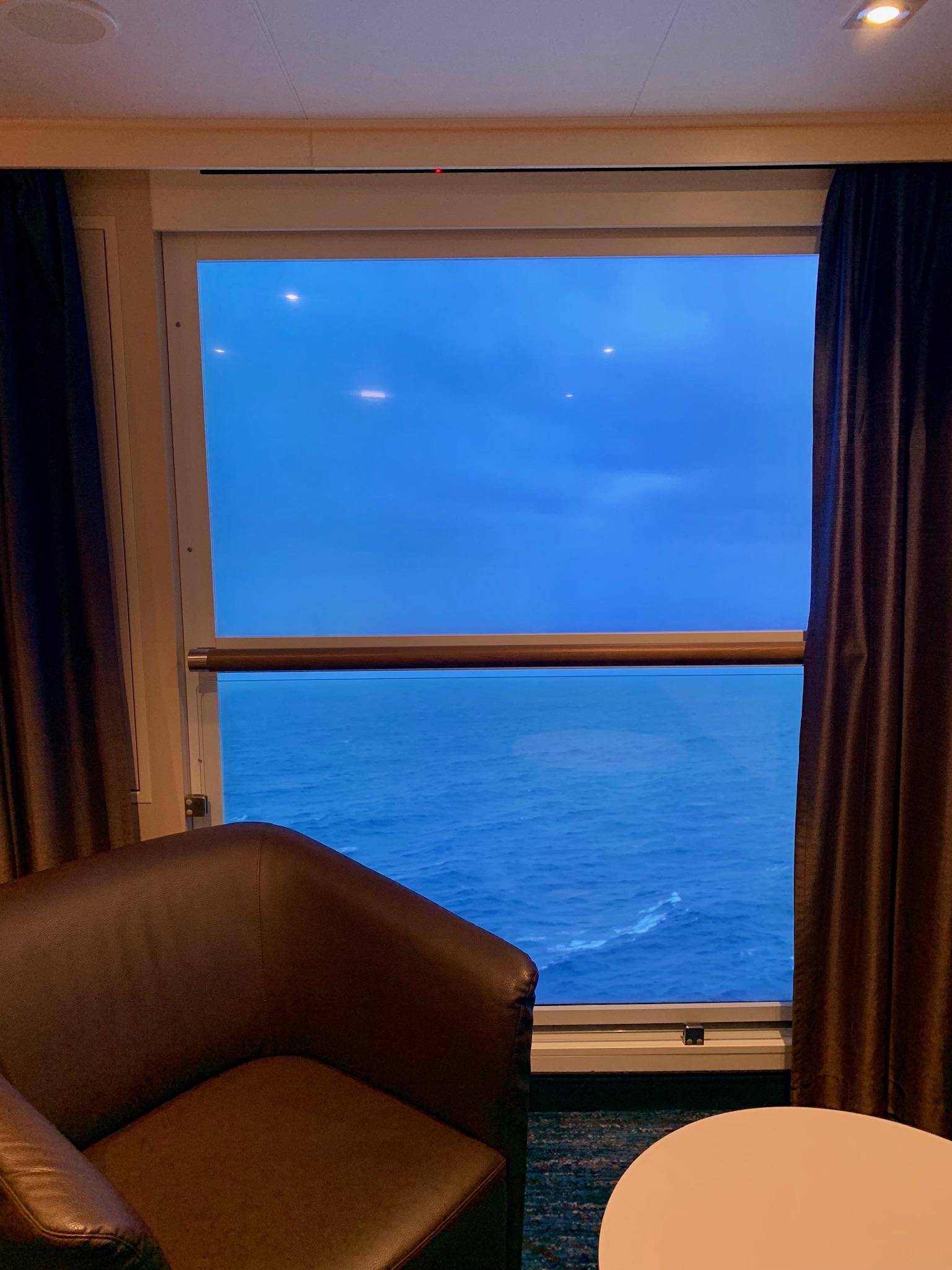 NCL Joy Concierge Family Suite Virtual Balcony