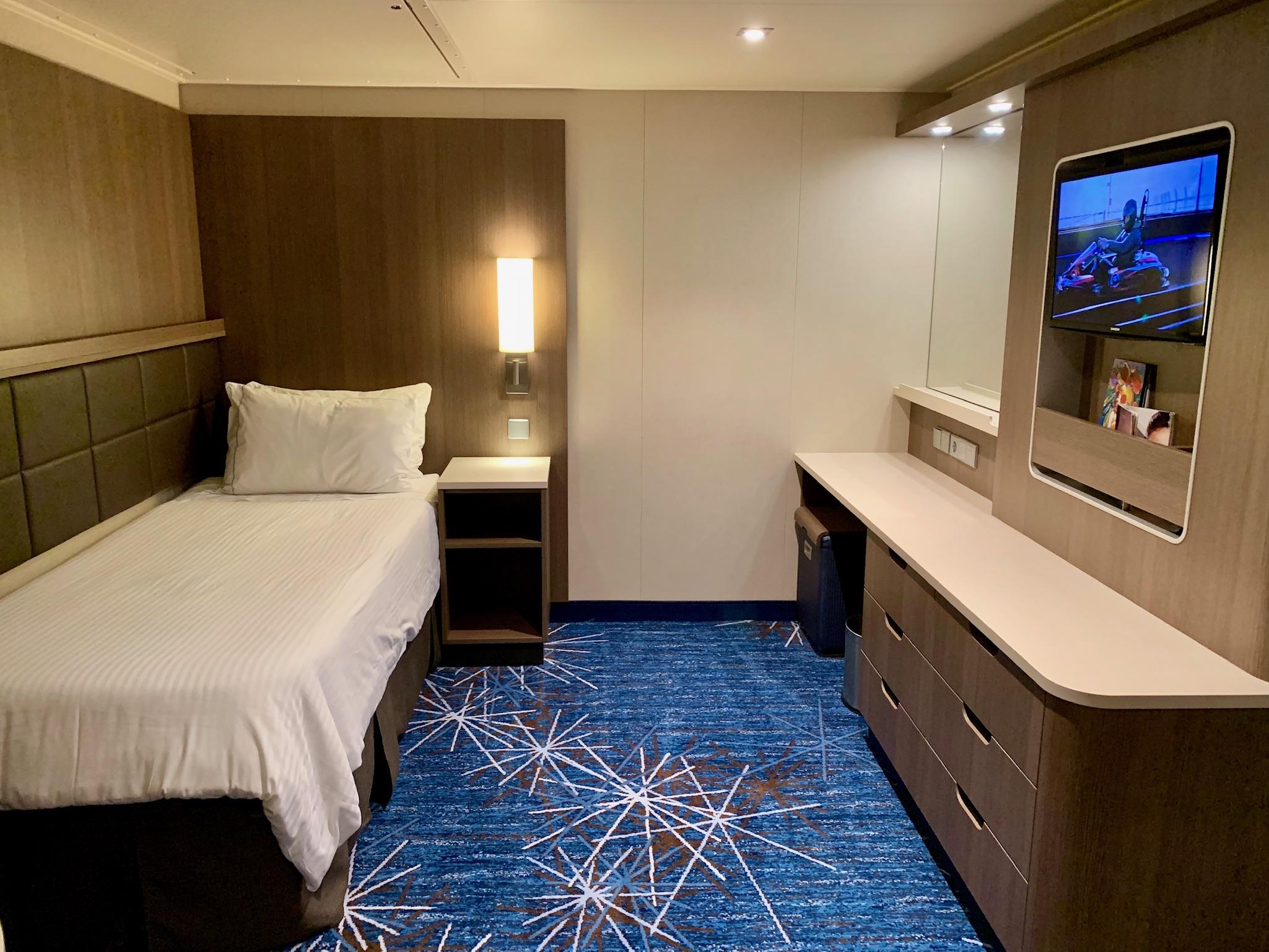 NCL Joy Concierge Family Suite 2nd bedroom
