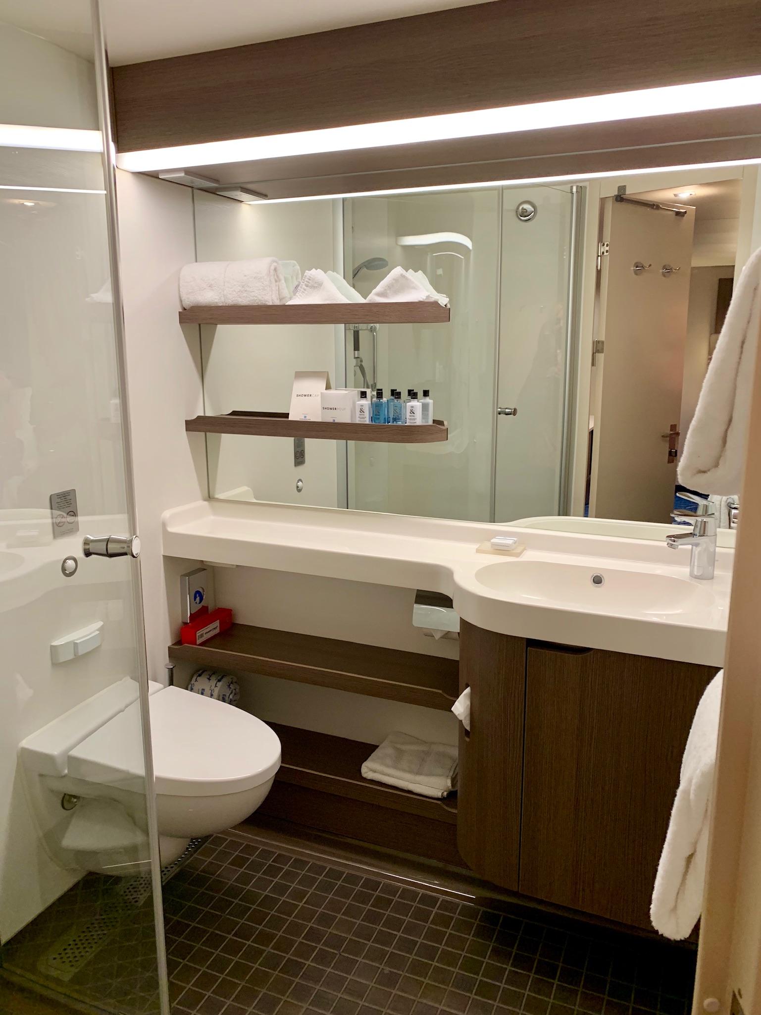 NCL Joy Concierge Family Suite 2nd Bath 2