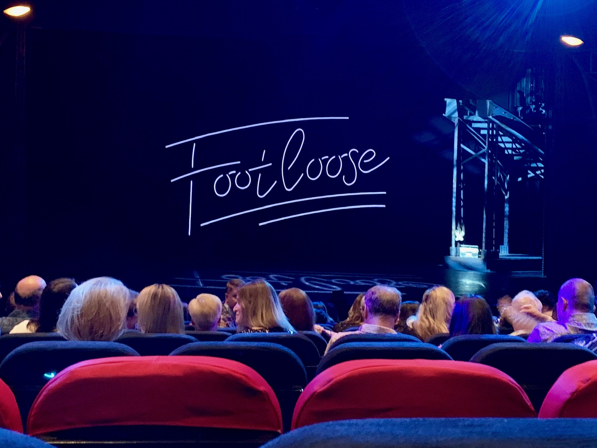 NCL Joy Concierge Theater Footloose