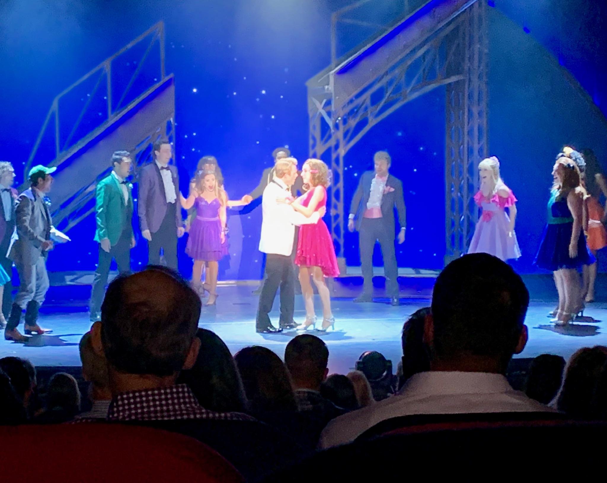 NCL Joy Concierge Theater Footloose Kiss Scene