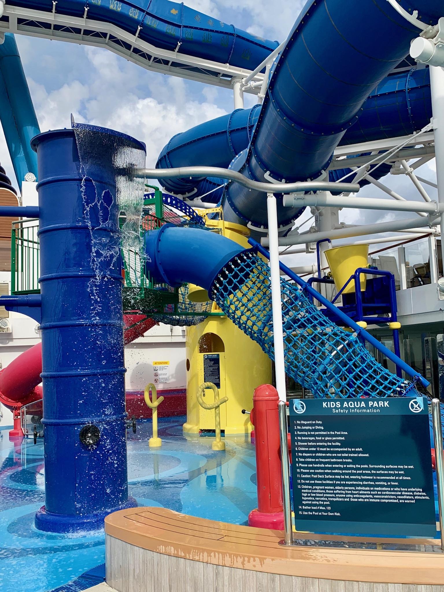 NCL Joy Pool Deck Kiddie Splash Pad
