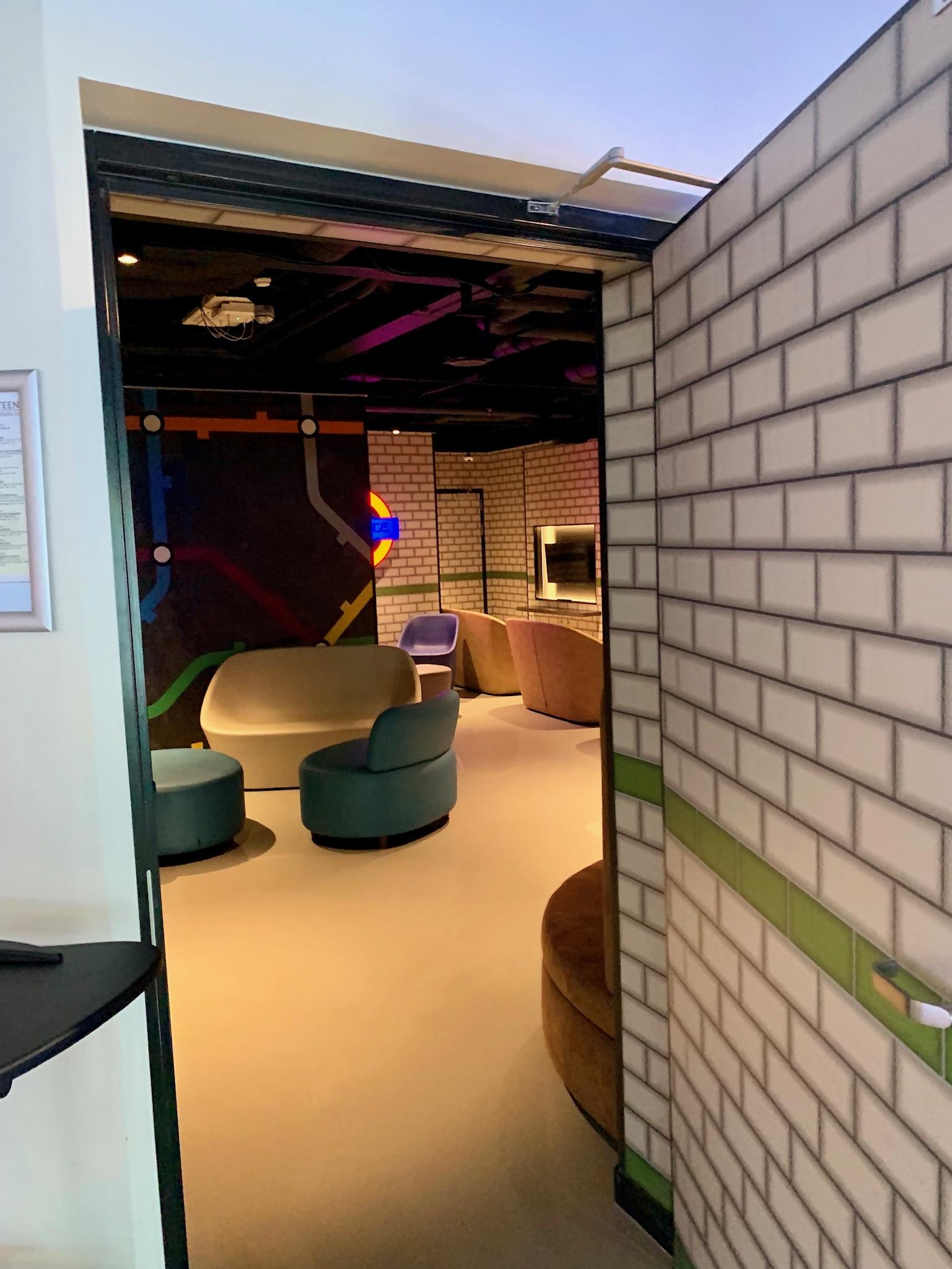 NCL Joy Galaxy Pavilion Teen Lounge Entrance