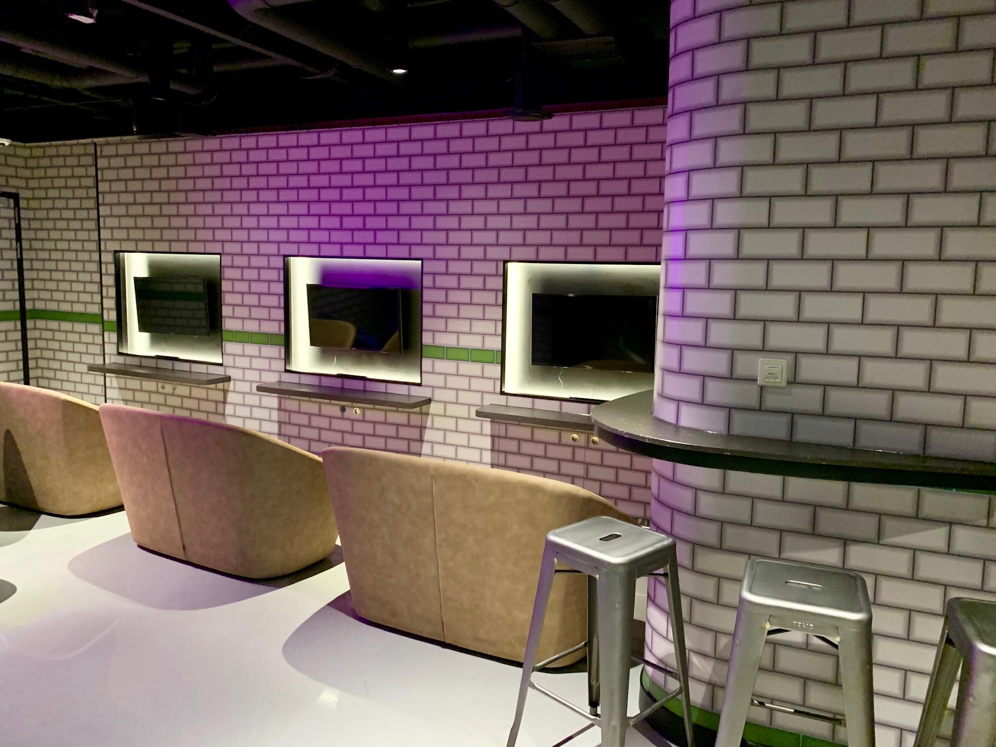 NCL Joy Galaxy Pavilion Teen Lounge Gaming Center