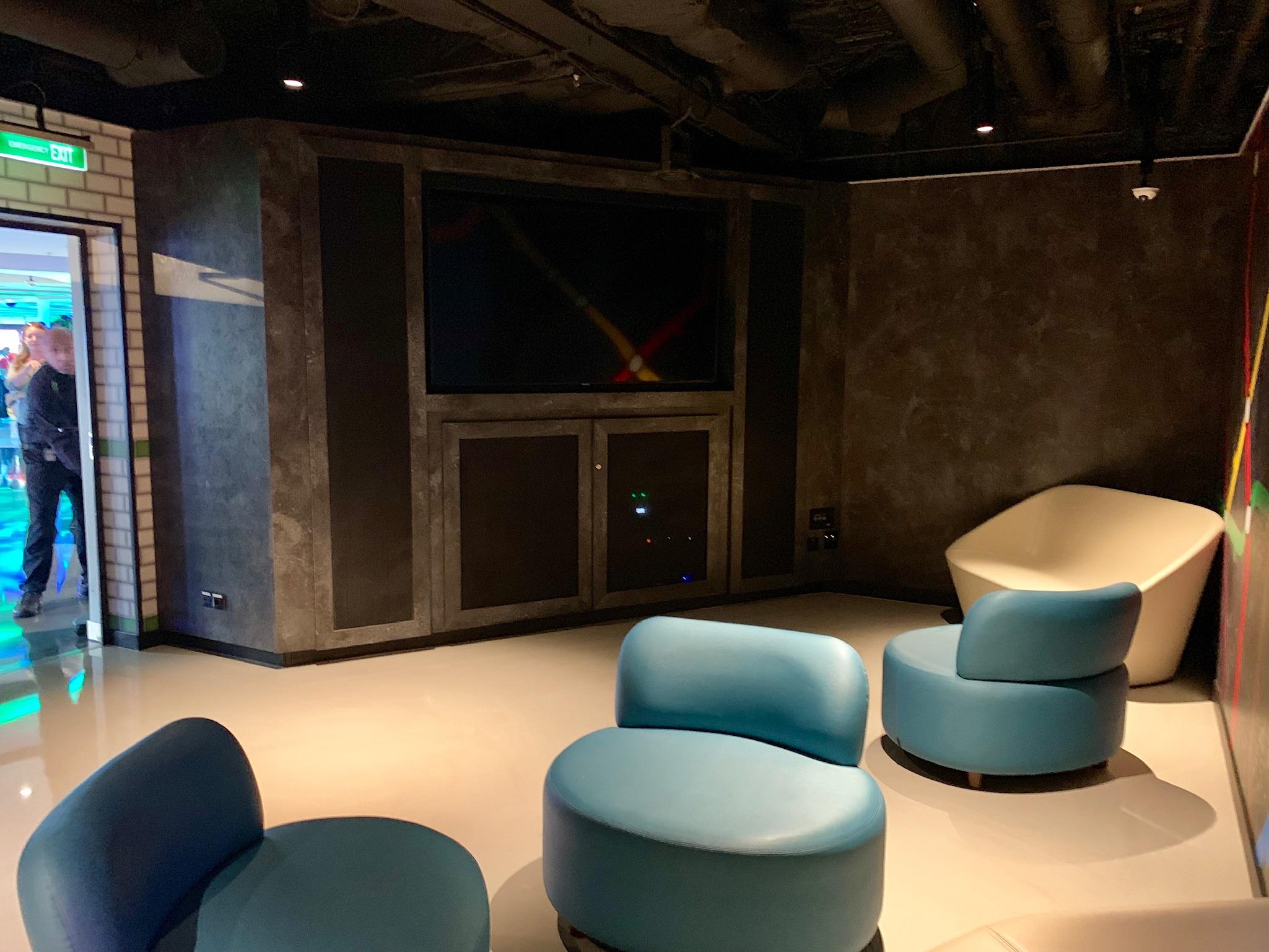 NCL Joy Galaxy Pavilion Teen Lounge View 2