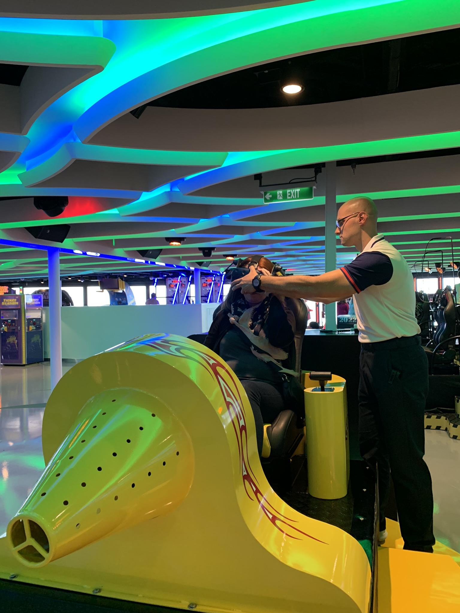 NCL Joy Galaxy Pavilion VR Rider