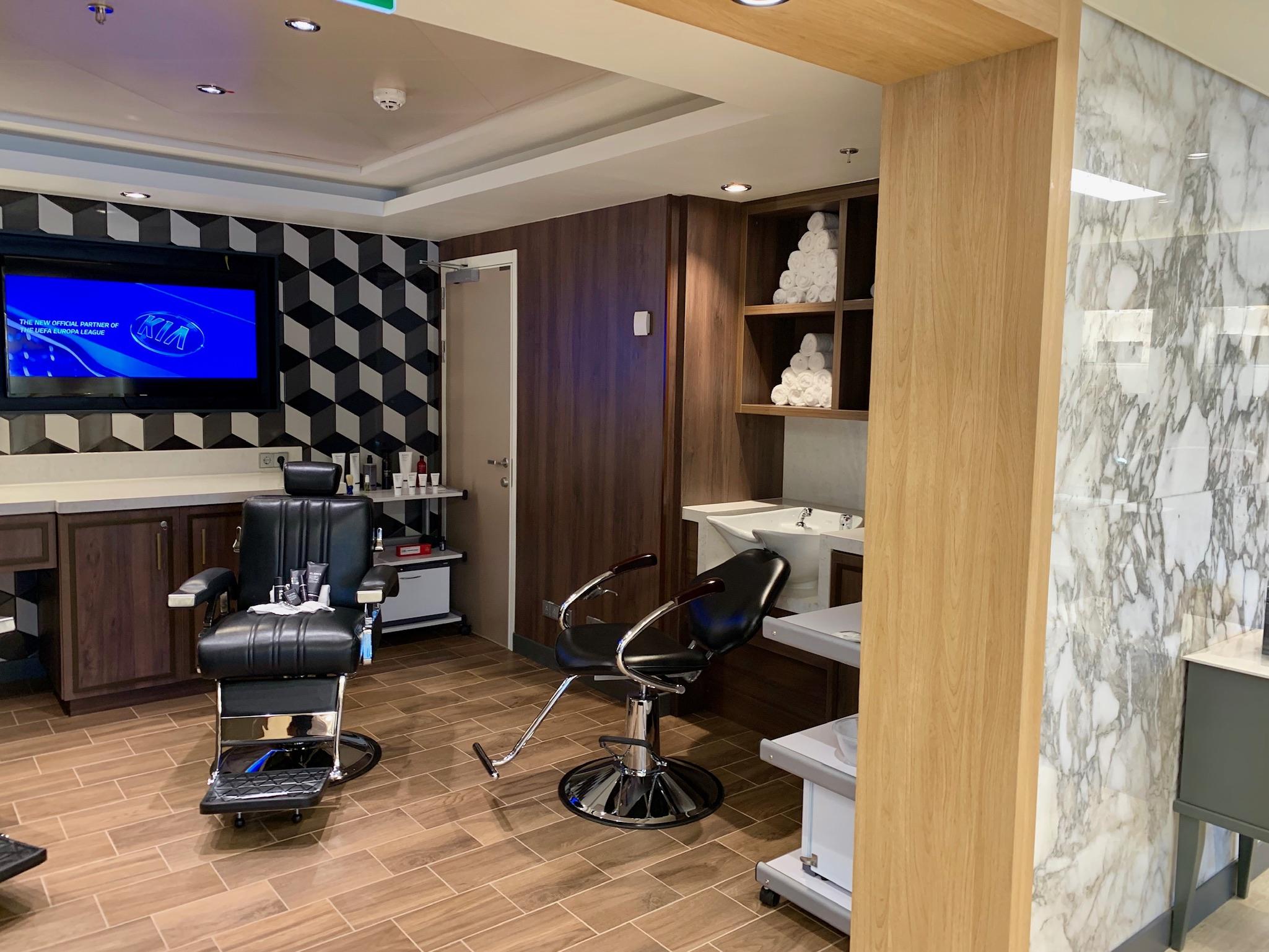 NCL Joy Barber Shop Interior