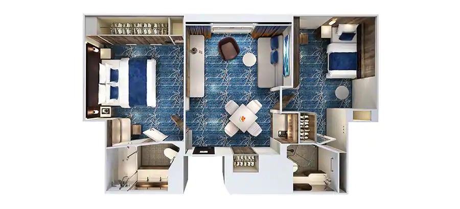 NCL Joy - Concierge Family Inside Suite