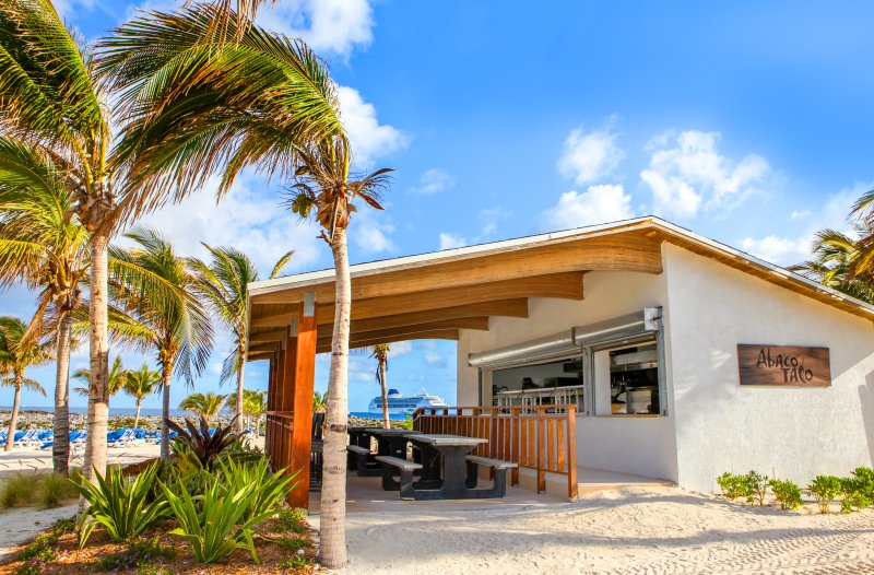 Abaco Taco Stand on Great Stirrup Cay Bahamas (c) NCL