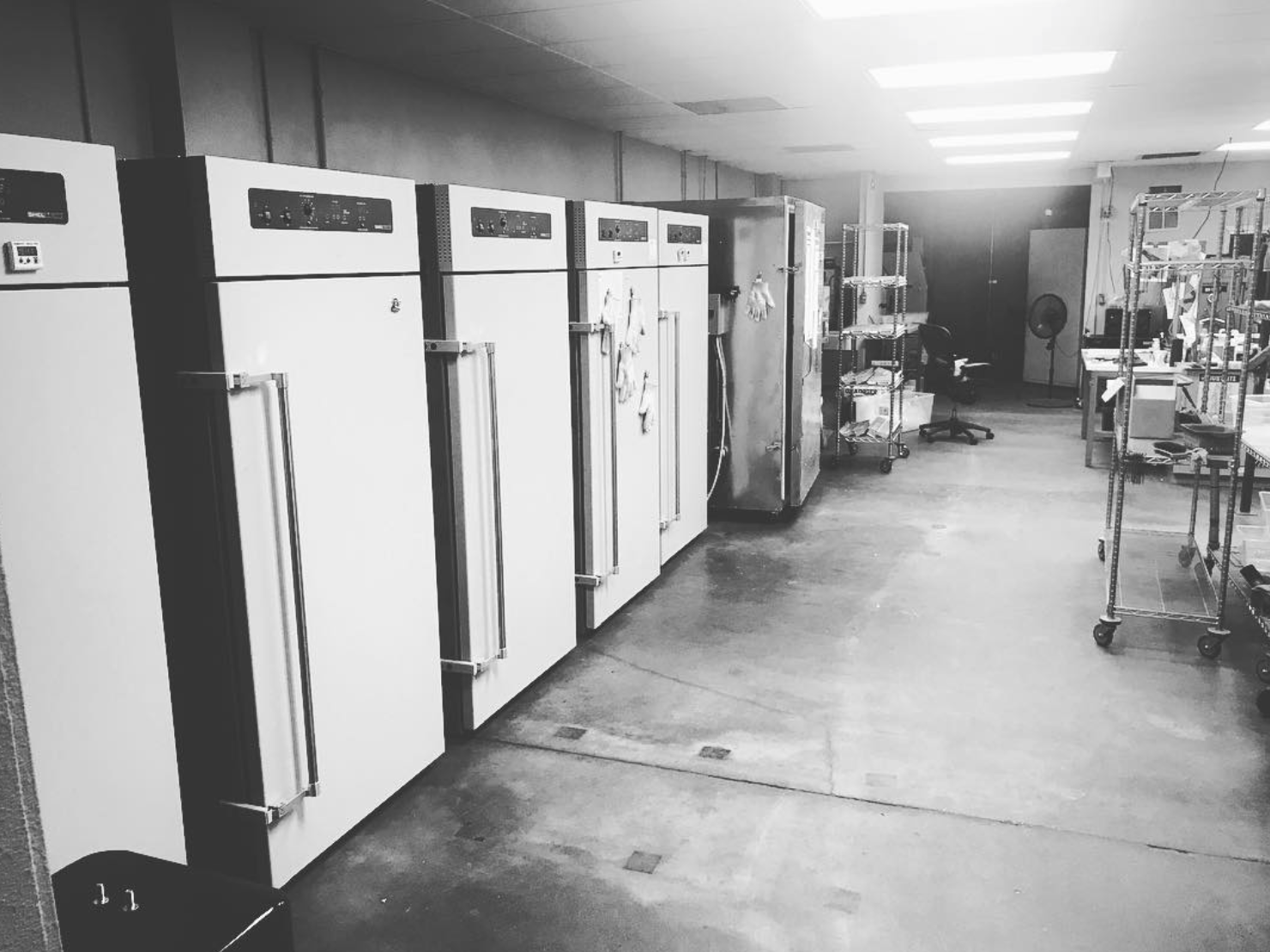 Shellab ovens used to cure Cerakote