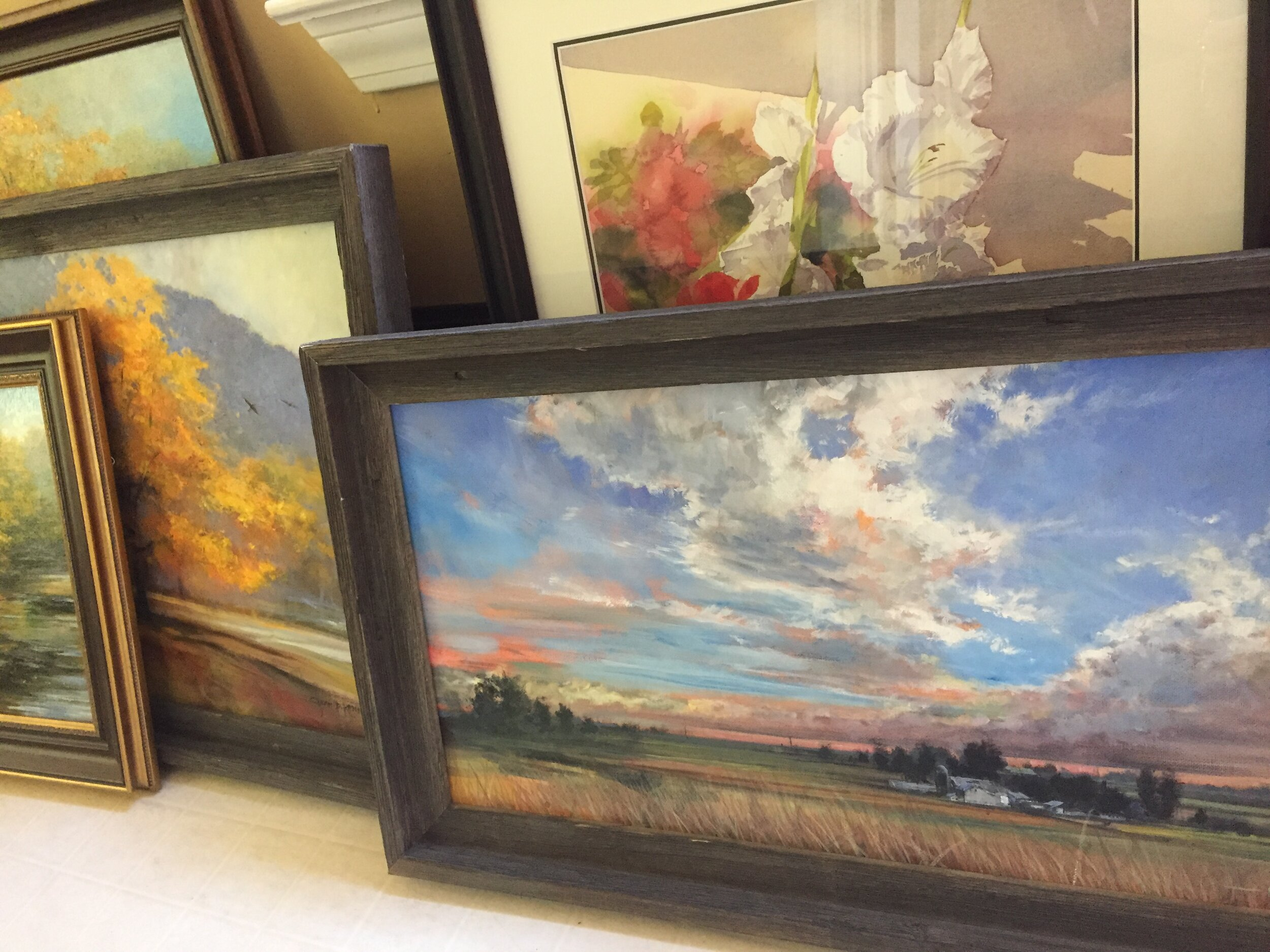 These are some of the paintings that Turning Leaf Gallery will offer in the coming fall season. They will be the newest gallery to represent my work! Check back often for more!