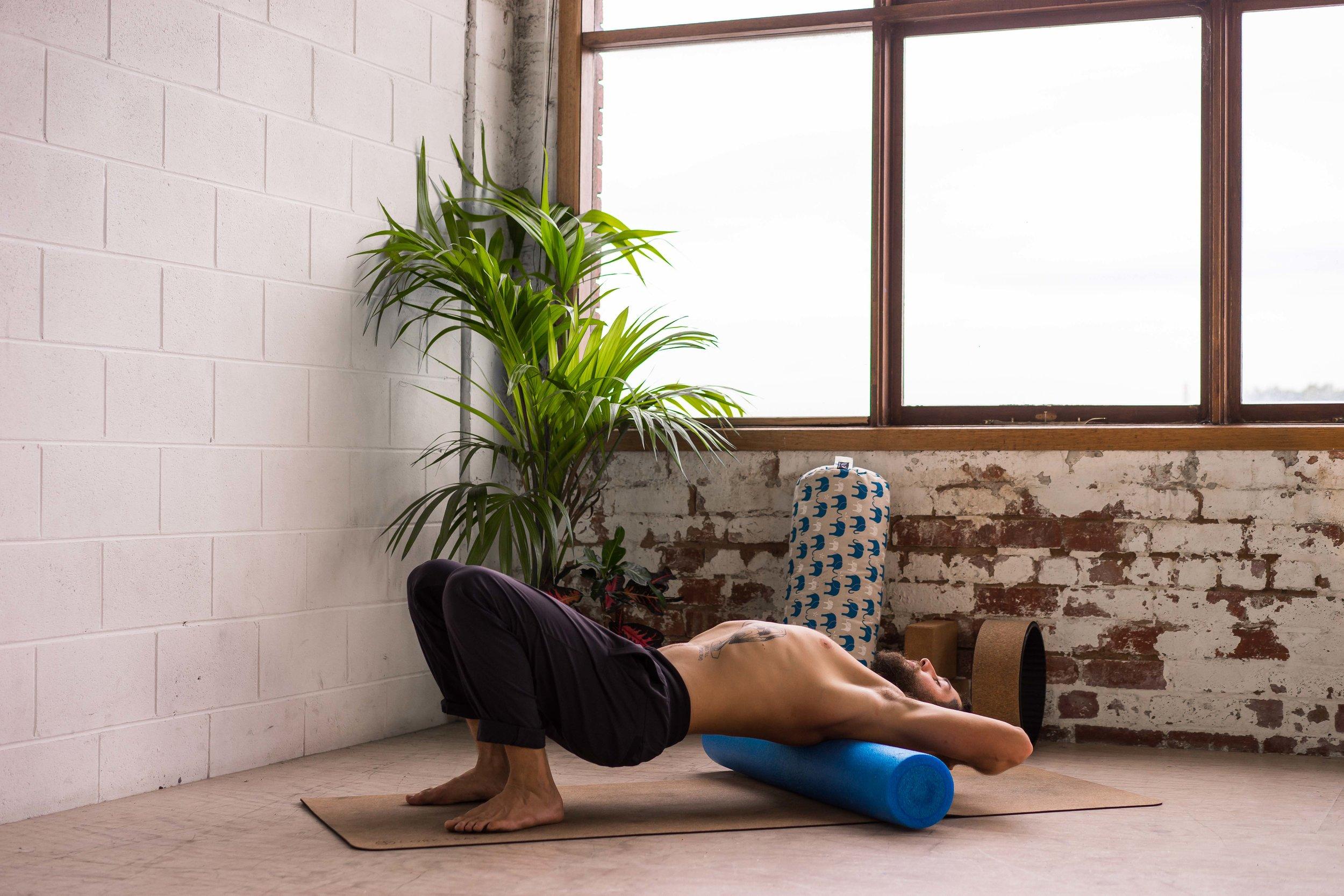 Level Up Yoga Berwick, Foam roller