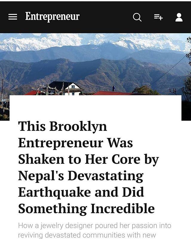 Following the big news of the tourism award and 3000 guests in Rainaskot, @entrepreneur magazine shared the story of founder @natashawozniak  and @5bibekk